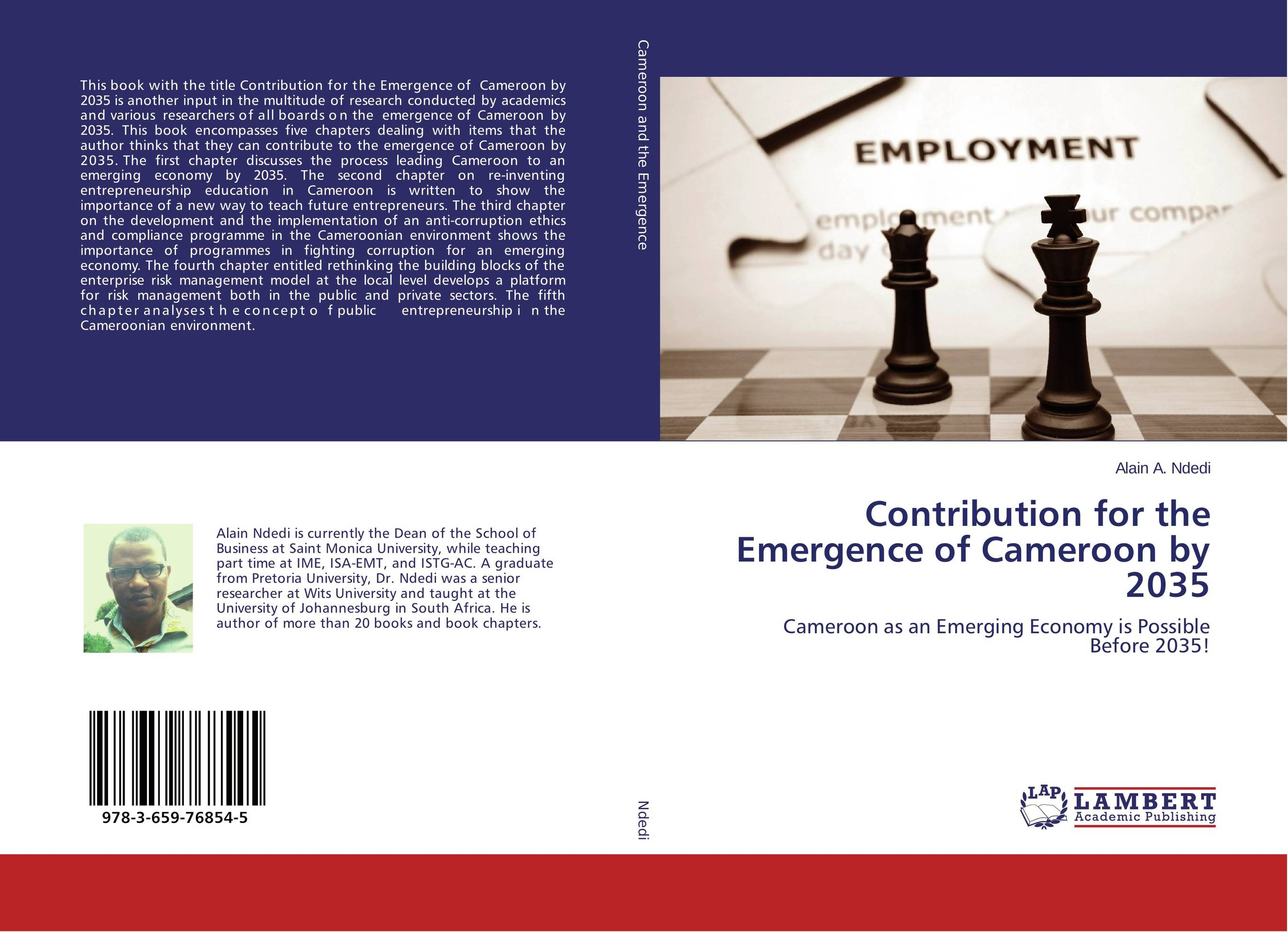 Contribution for the Emergence of Cameroon by 2035