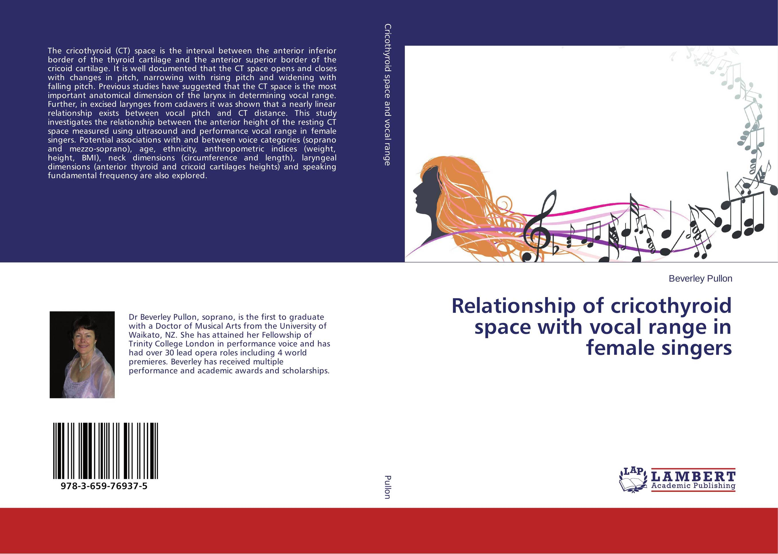 Relationship of cricothyroid space with vocal range in female singers the space between us