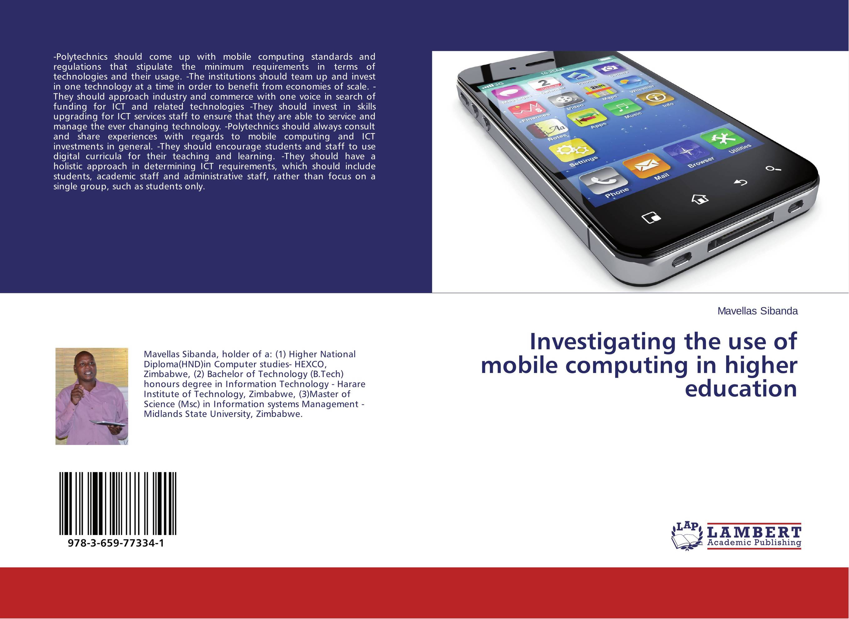 Investigating the use of mobile computing in higher education the use of ict for learning at dinaledi school in the limpopo province
