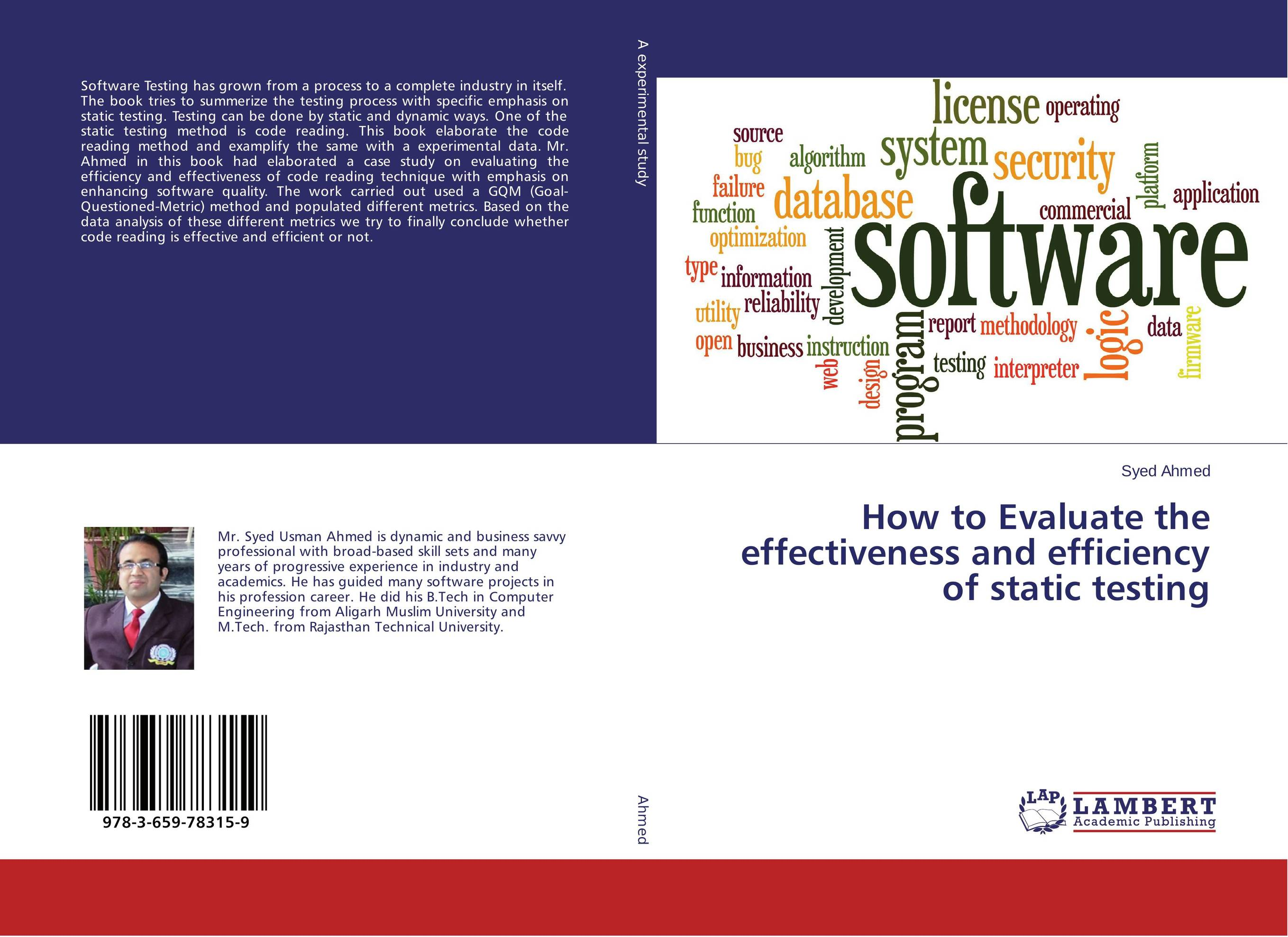 How to Evaluate the effectiveness and efficiency of static testing