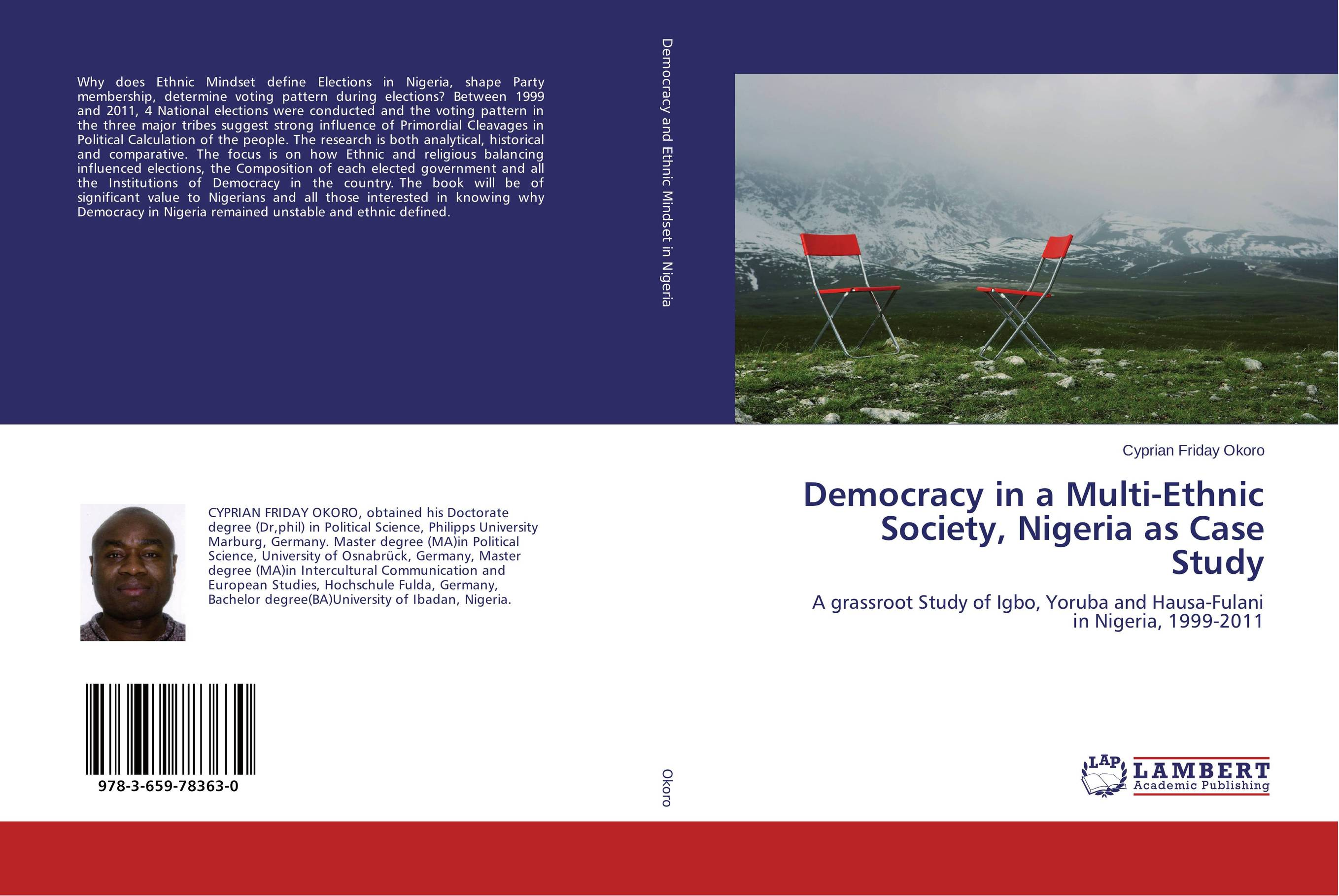 Democracy in a Multi-Ethnic Society, Nigeria as Case Study устройство зарядное орион pw 150