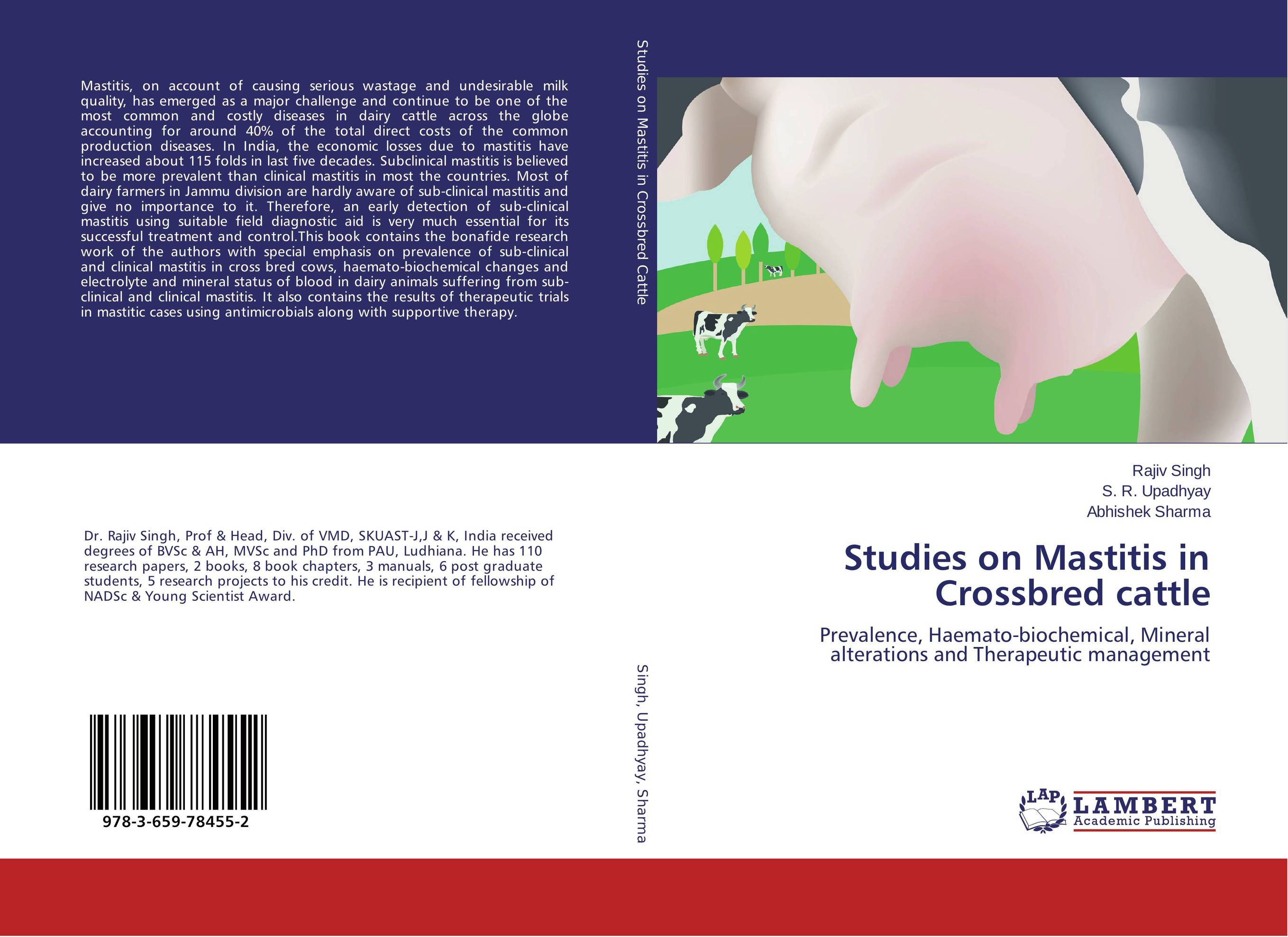 Studies on Mastitis in Crossbred cattle current fertility status in cattle of mini dairy farms
