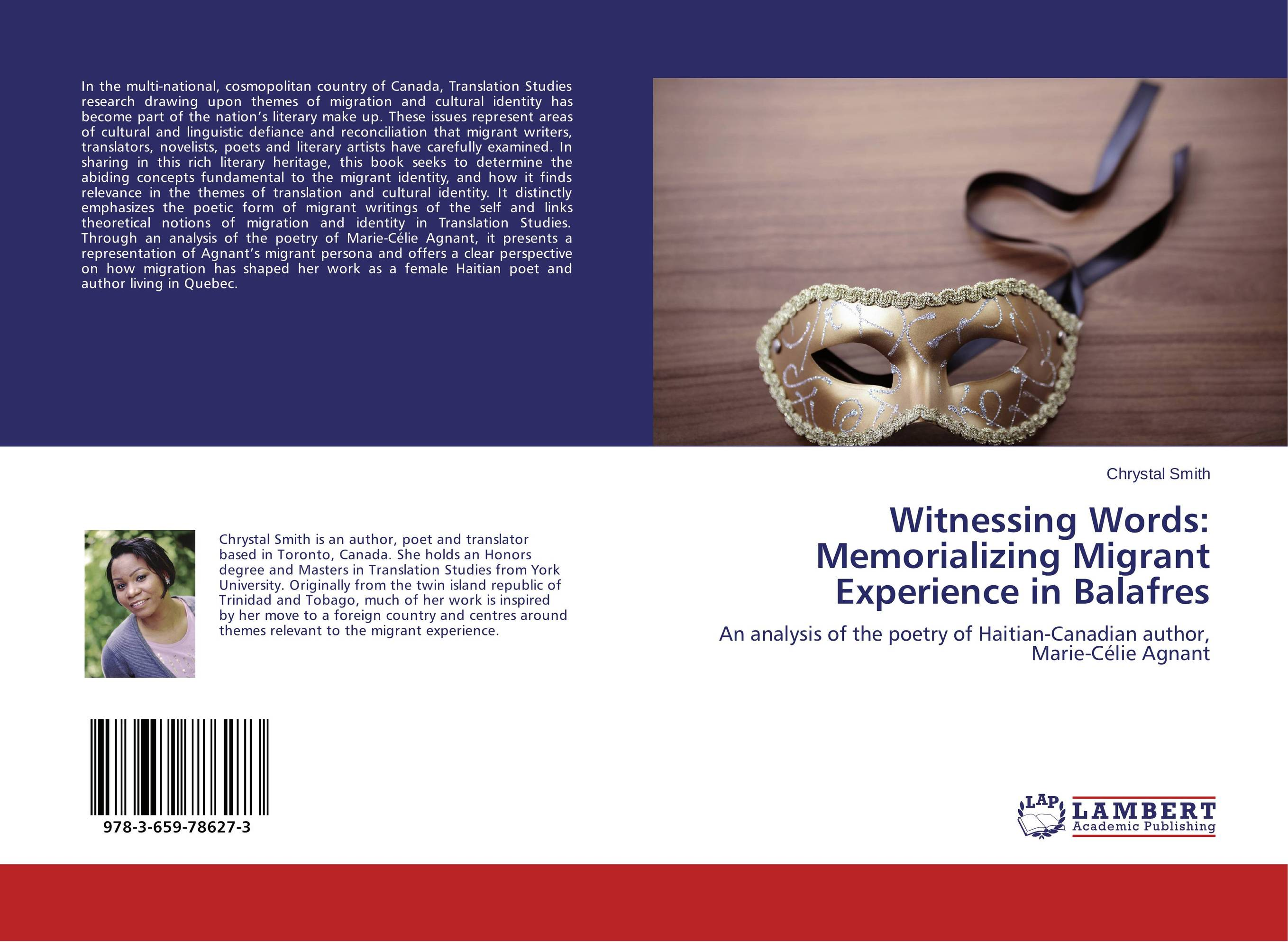 Witnessing Words: Memorializing Migrant Experience in Balafres the stylistic identity of english literary texts