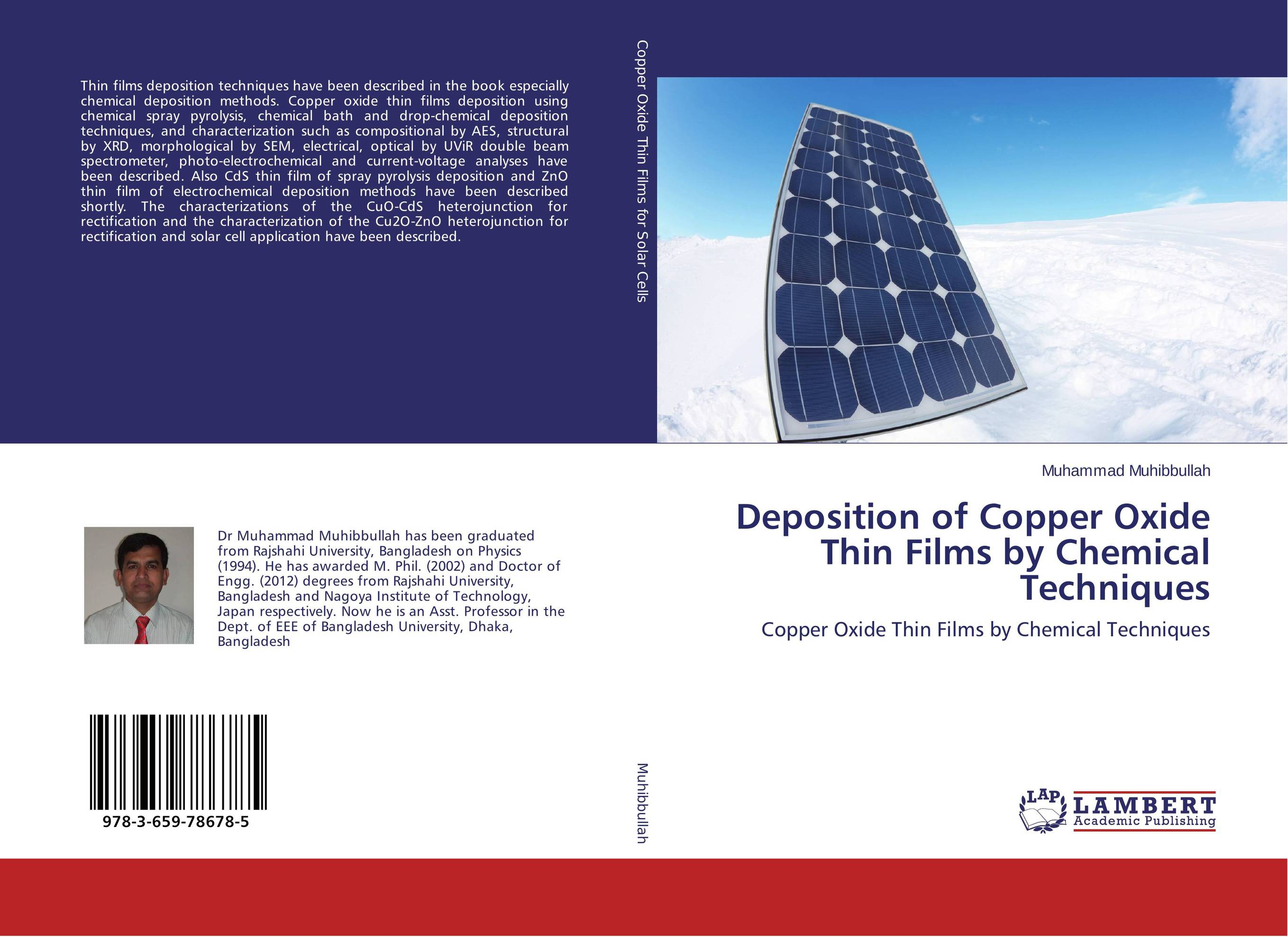 Deposition of Copper Oxide Thin Films by Chemical Techniques zno cds core shells optical sensor fabrication using chemical method