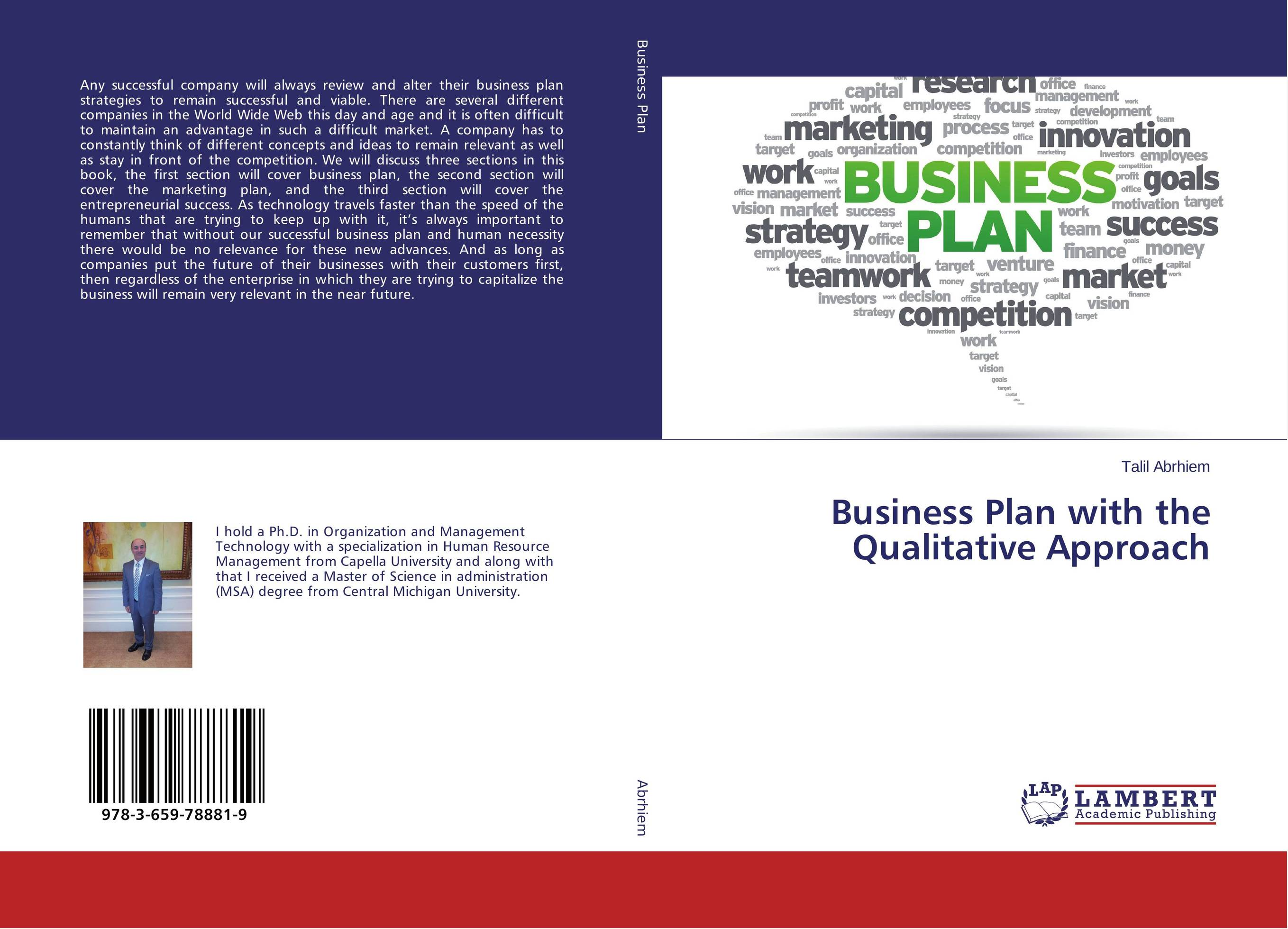 Business Plan with the Qualitative Approach business plan for a start up of an information brokering company