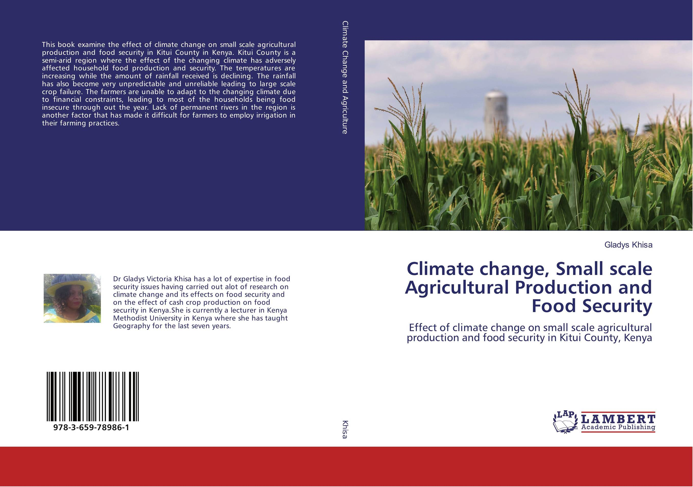 Climate change, Small scale Agricultural Production and Food Security cold storage accessibility and agricultural production by smallholders