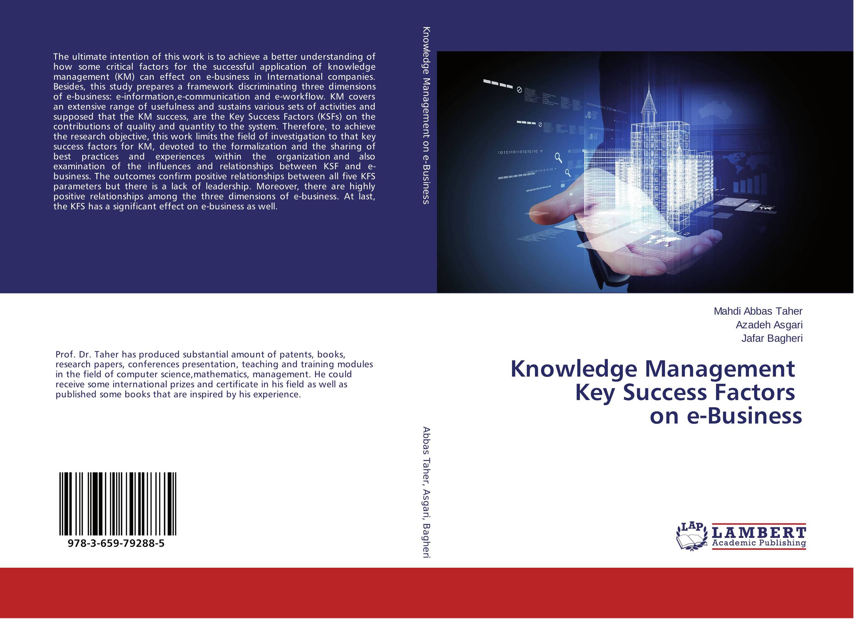 Knowledge Management Key Success Factors on e-Business knowledge management – classic