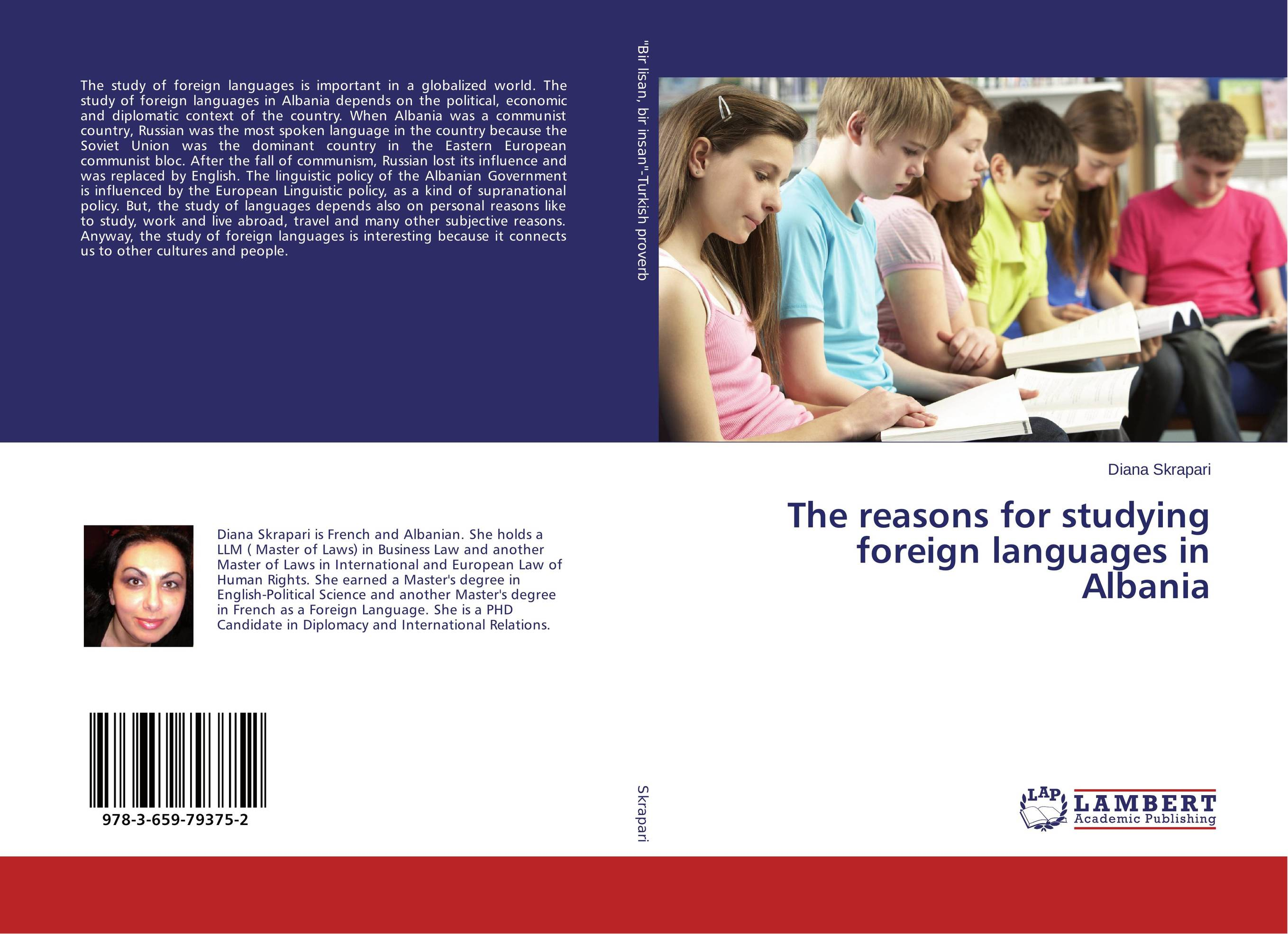 The reasons for studying foreign languages in Albania купить