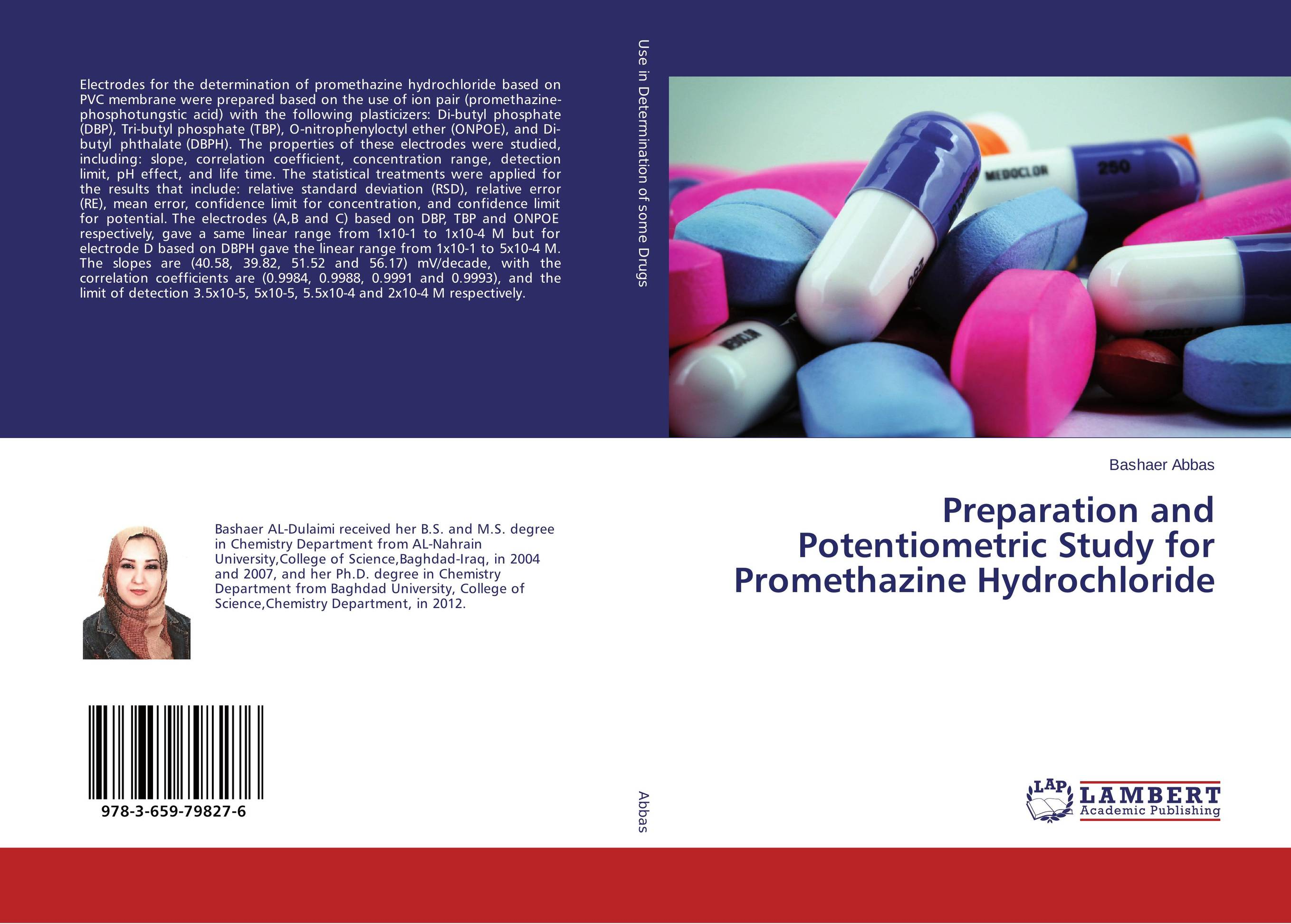 Preparation and Potentiometric Study for Promethazine Hydrochloride