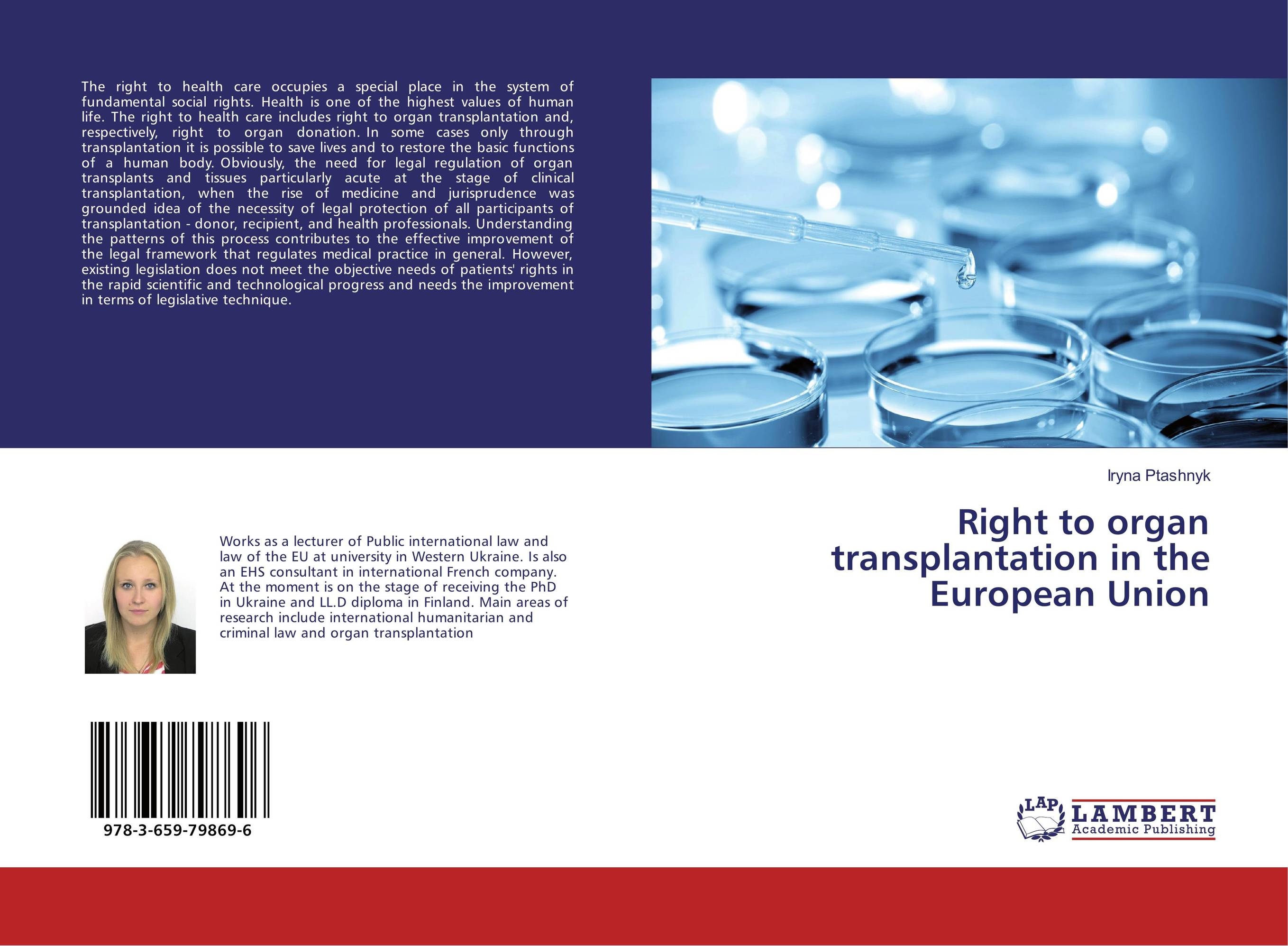 Right to organ transplantation in the European Union transplantation