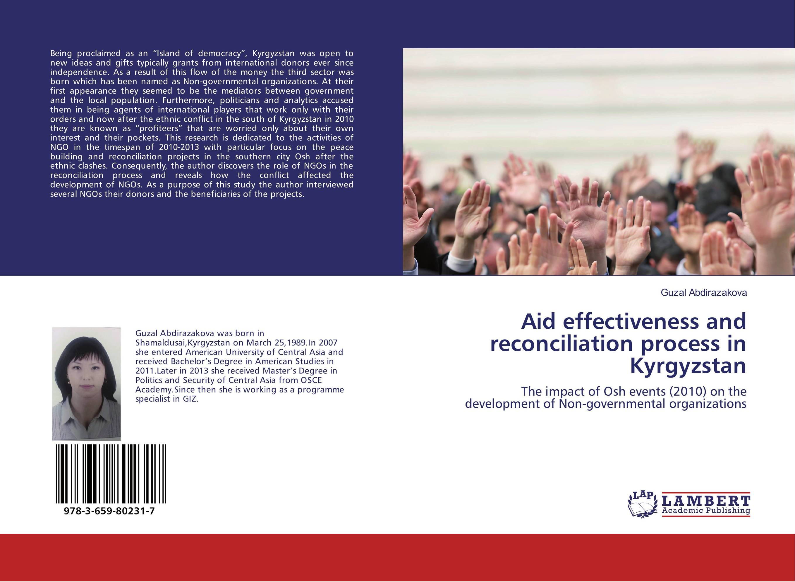 Aid effectiveness and reconciliation process in Kyrgyzstan ngos