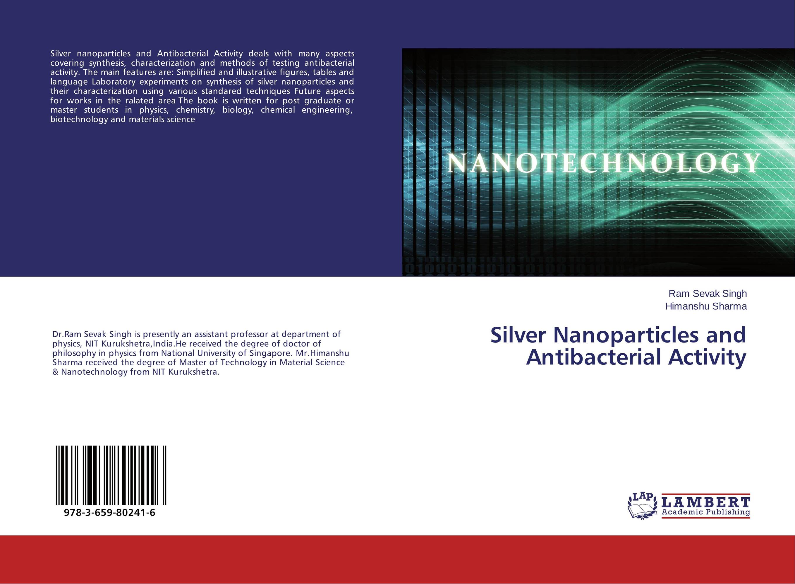 Silver Nanoparticles and Antibacterial Activity purnima sareen sundeep kumar and rakesh singh molecular and pathological characterization of slow rusting in wheat