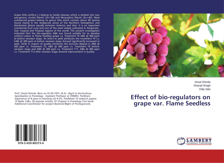 Effect of bio-regulators on grape var. Flame Seedless sadat khattab usama abdul raouf and tsutomu kodaki bio ethanol for future from woody biomass