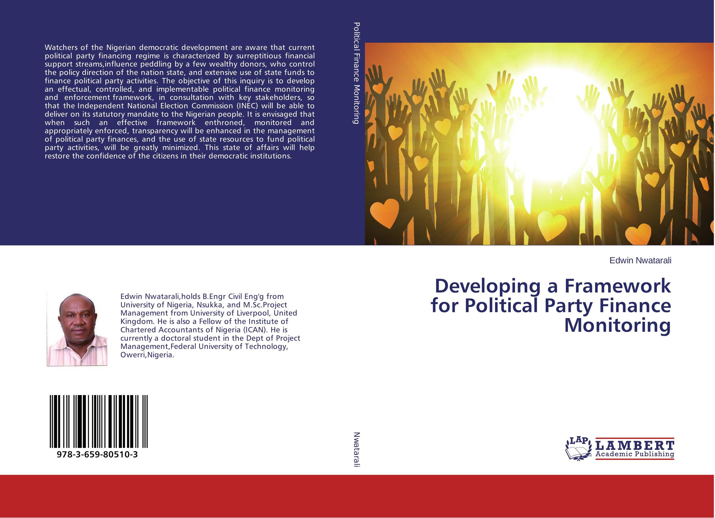 Developing a Framework for Political Party Finance Monitoring affair of state an