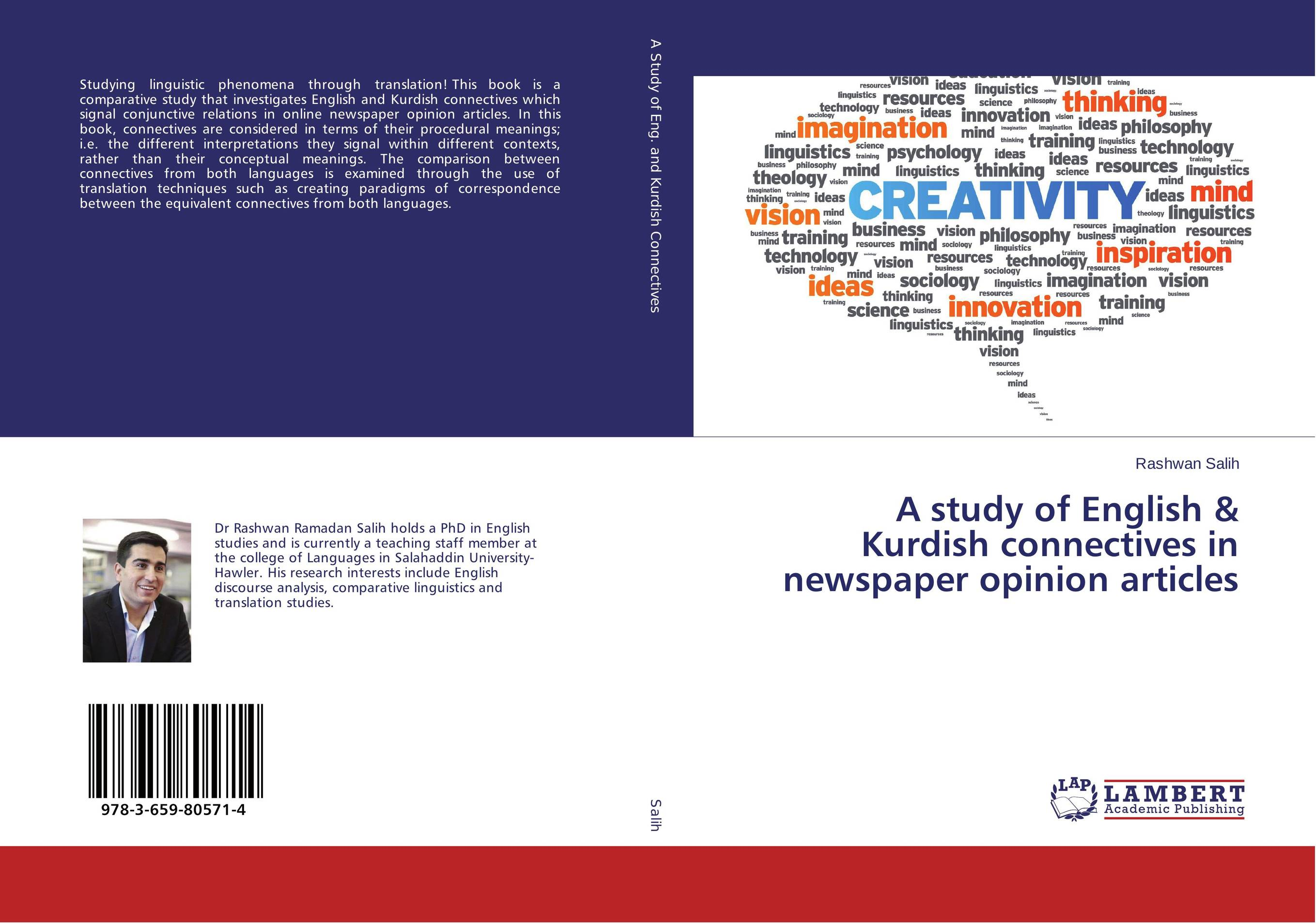 A study of English & Kurdish connectives in newspaper opinion articles e hutchins culture and inference – a trobriand case study