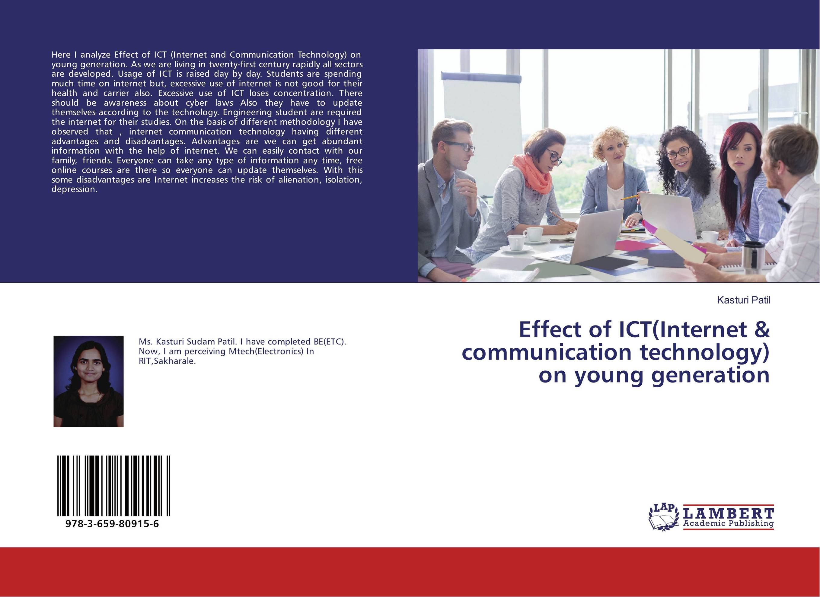 Effect of ICT(Internet & communication technology) on young generation effect of information and communication technology on research and development activities