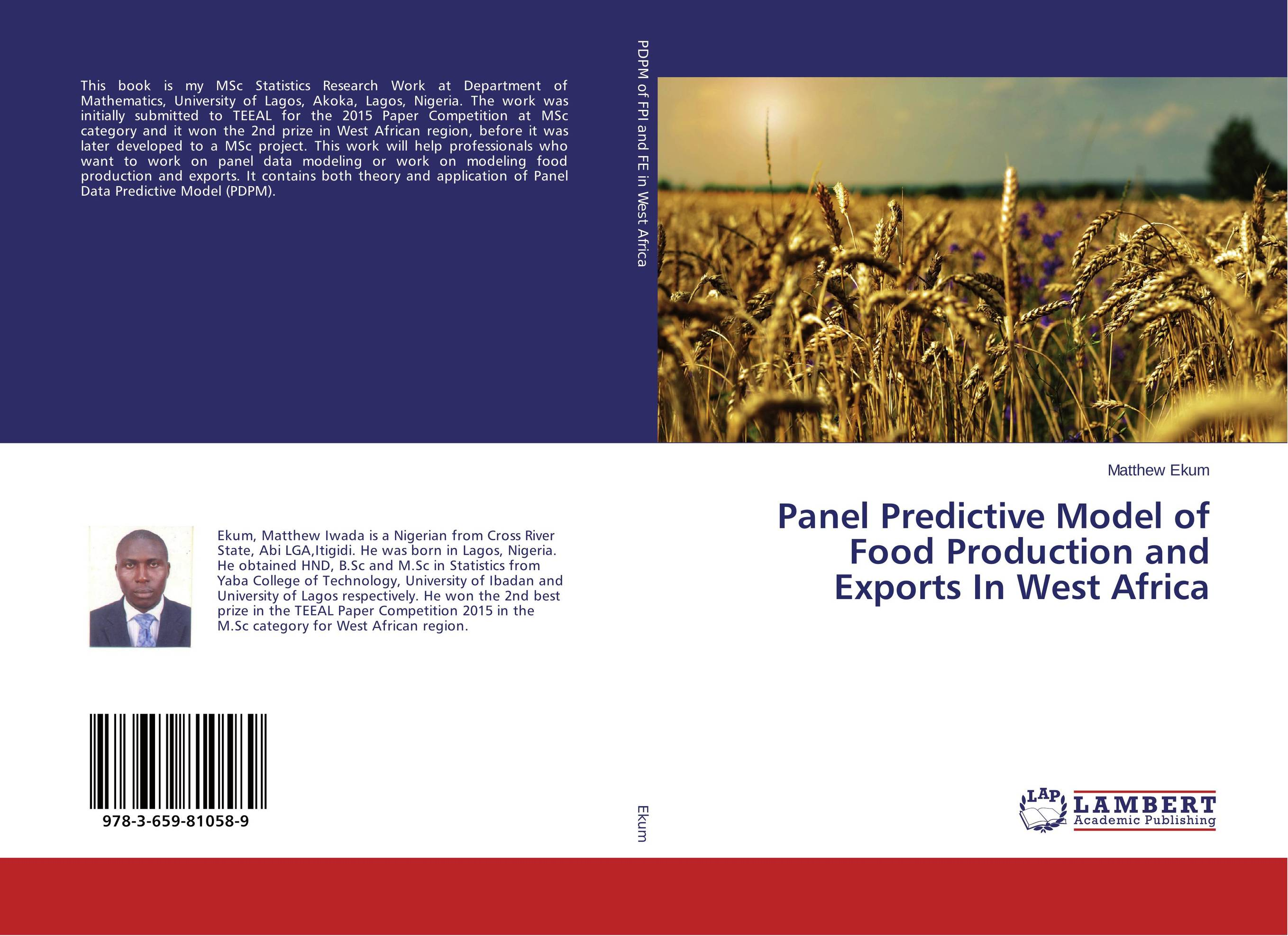 Panel Predictive Model of Food Production and Exports In West Africa facility location and the theory of production