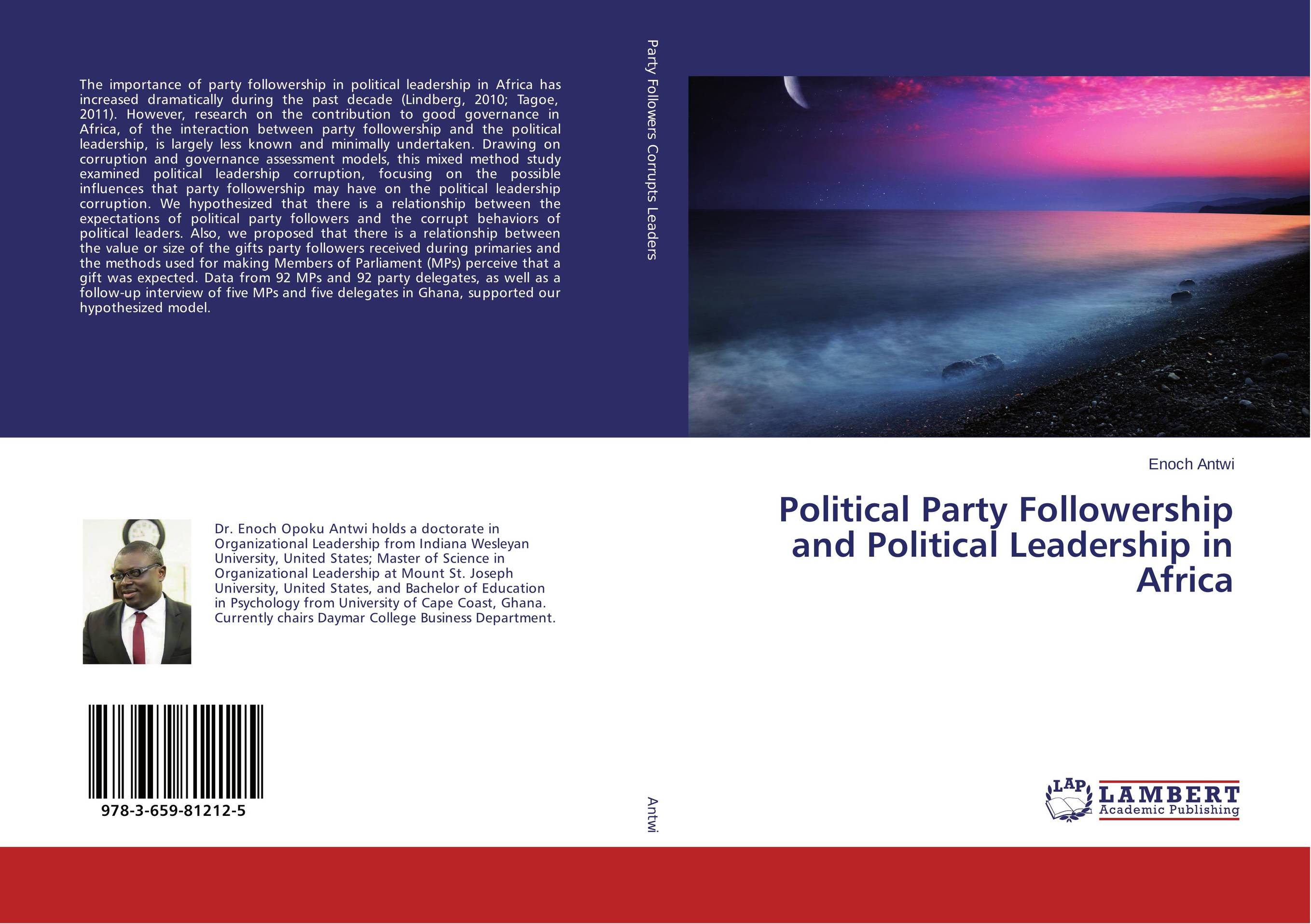 Political Party Followership and Political Leadership in Africa a study of the religio political thought of abdurrahman wahid
