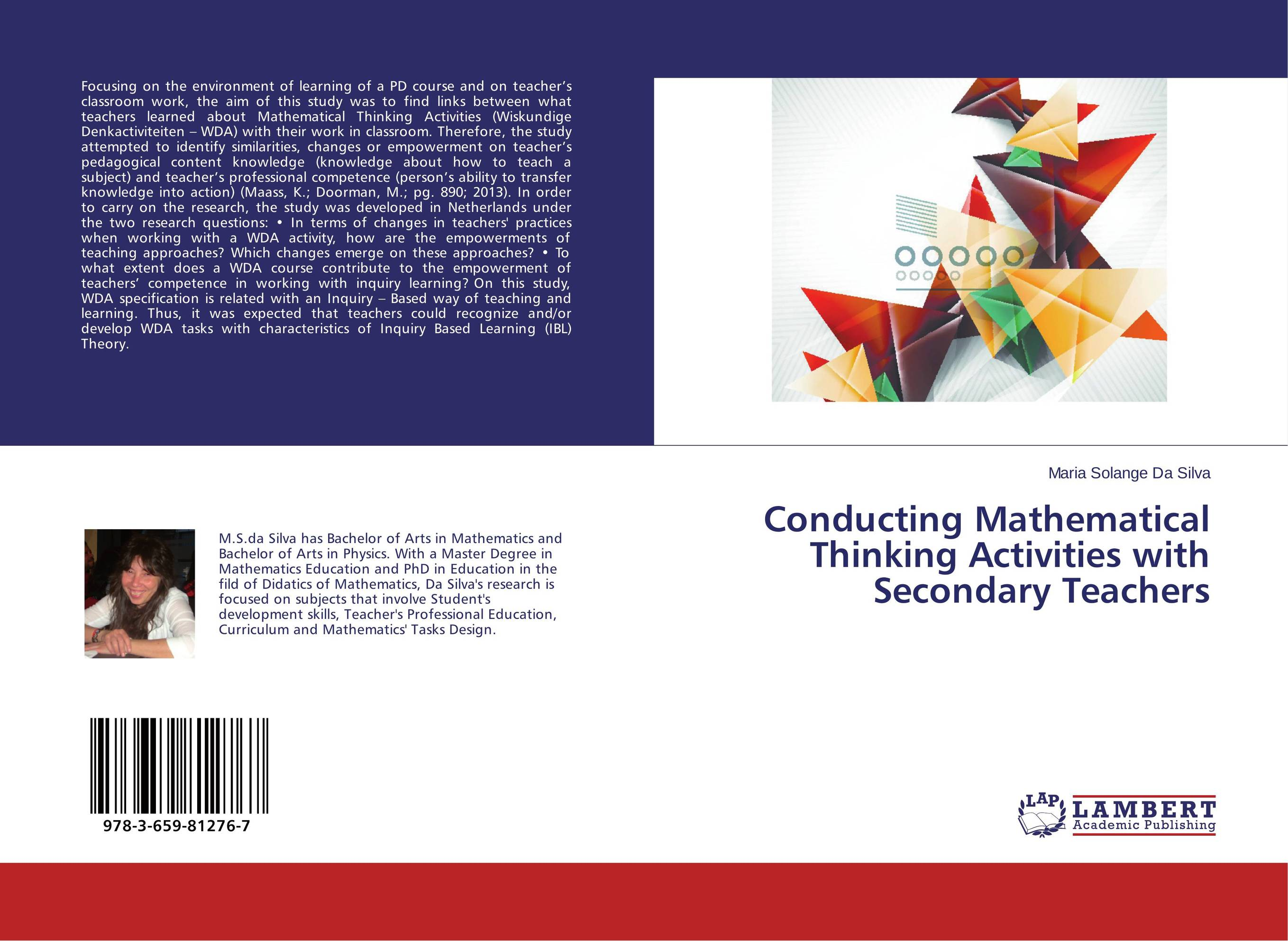 Conducting Mathematical Thinking Activities with Secondary Teachers chess and mathematical thinking