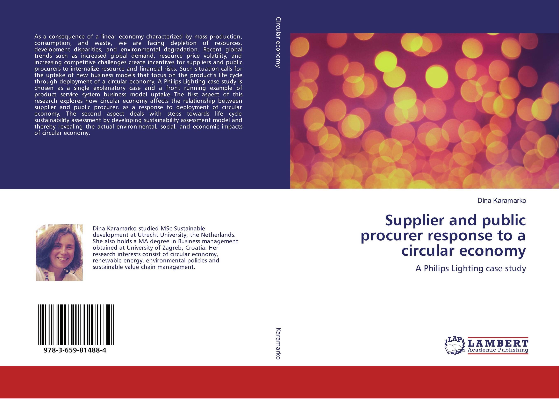 цена на Supplier and public procurer response to a circular economy