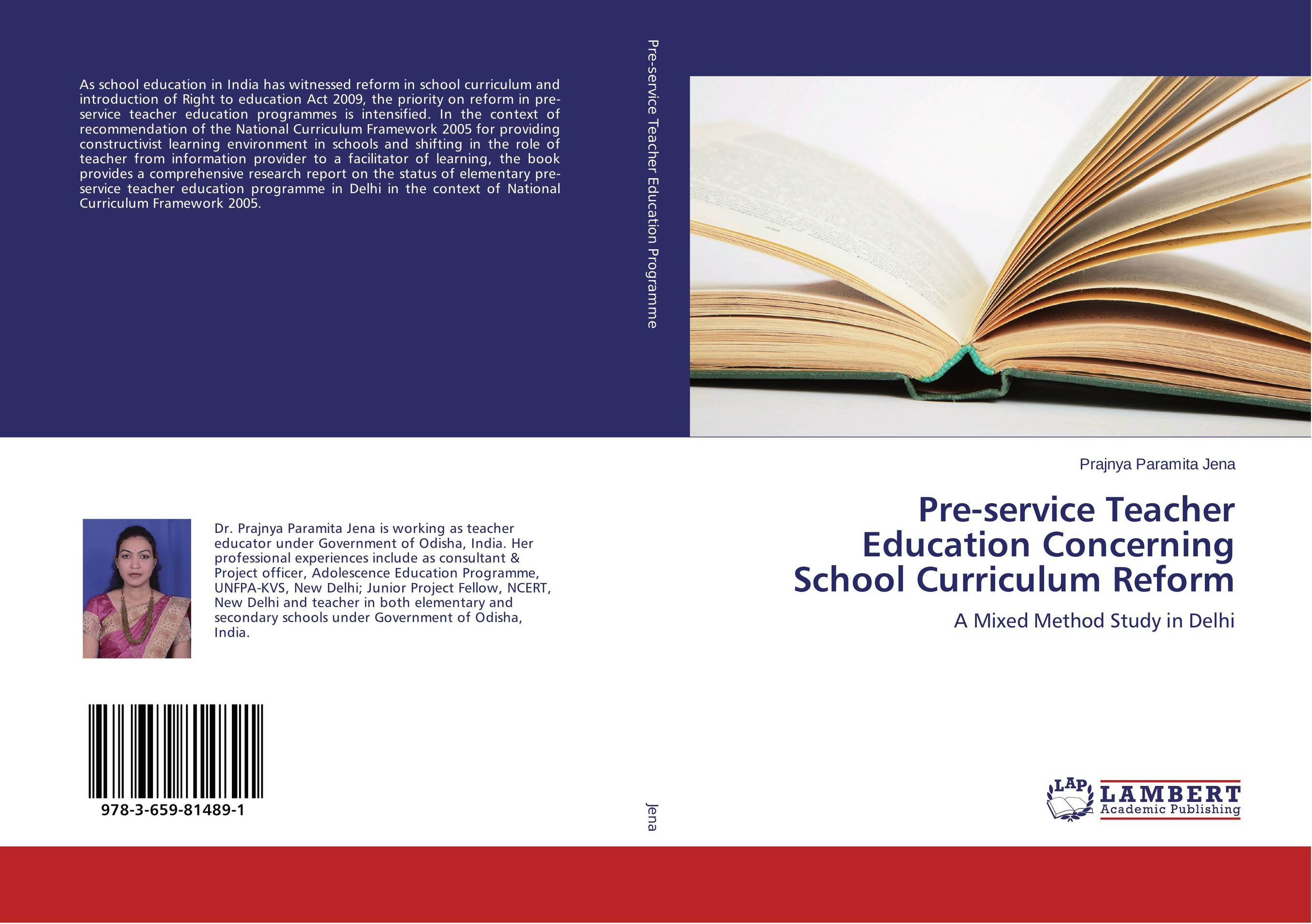 Pre-service Teacher Education Concerning School Curriculum Reform parents gender and education reform