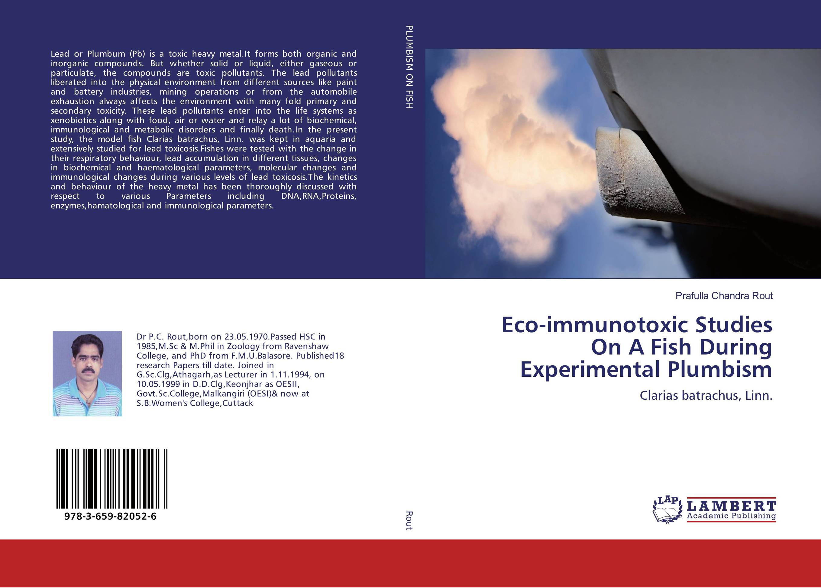 Eco-immunotoxic Studies On A Fish During Experimental Plumbism cadmium from earth crust to fish tissues