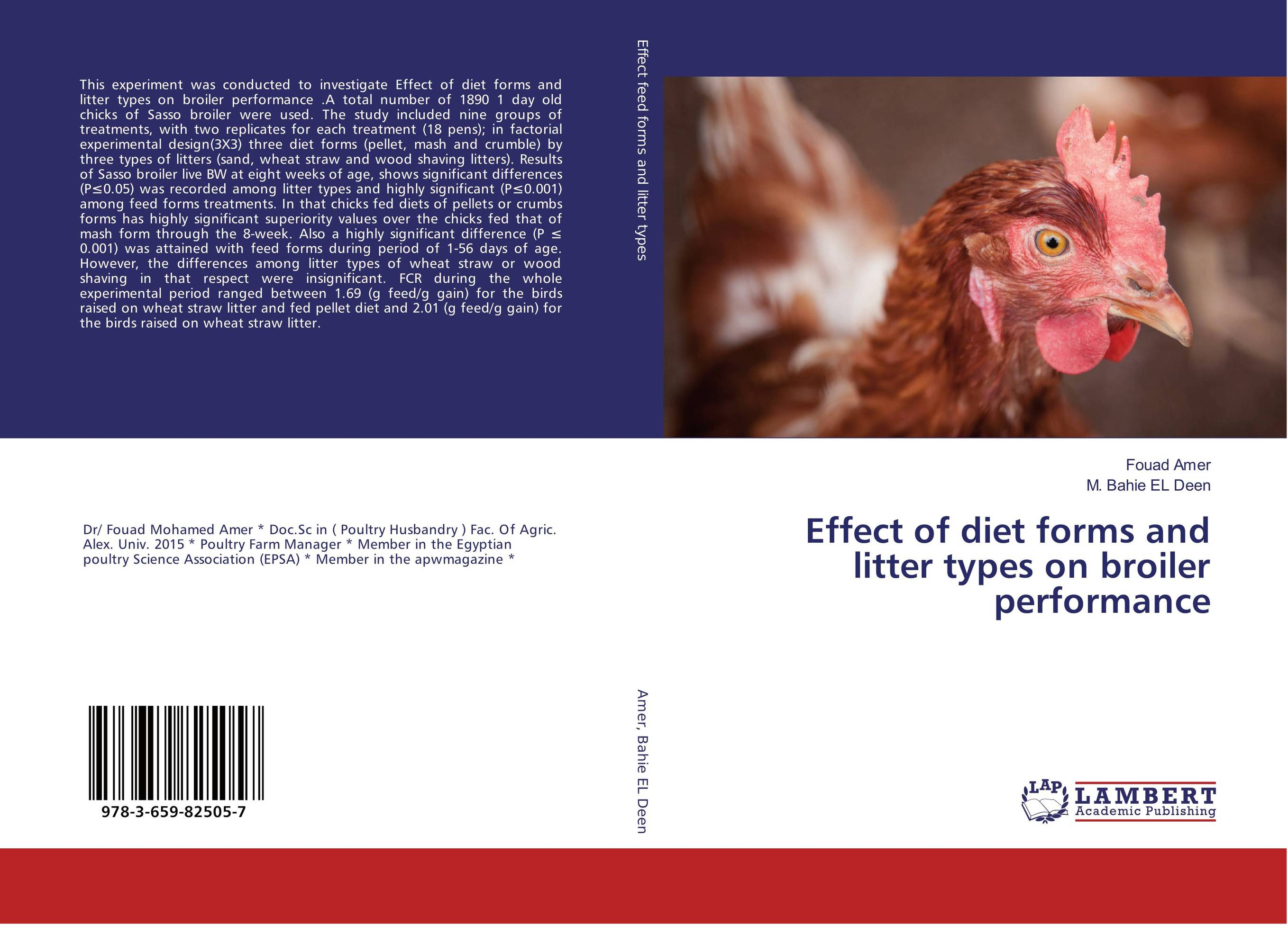 Effect of diet forms and litter types on broiler performance rajhans verma santosh kumar pandey and w p badole effect of methods of composting on quality of compost from wheat straw