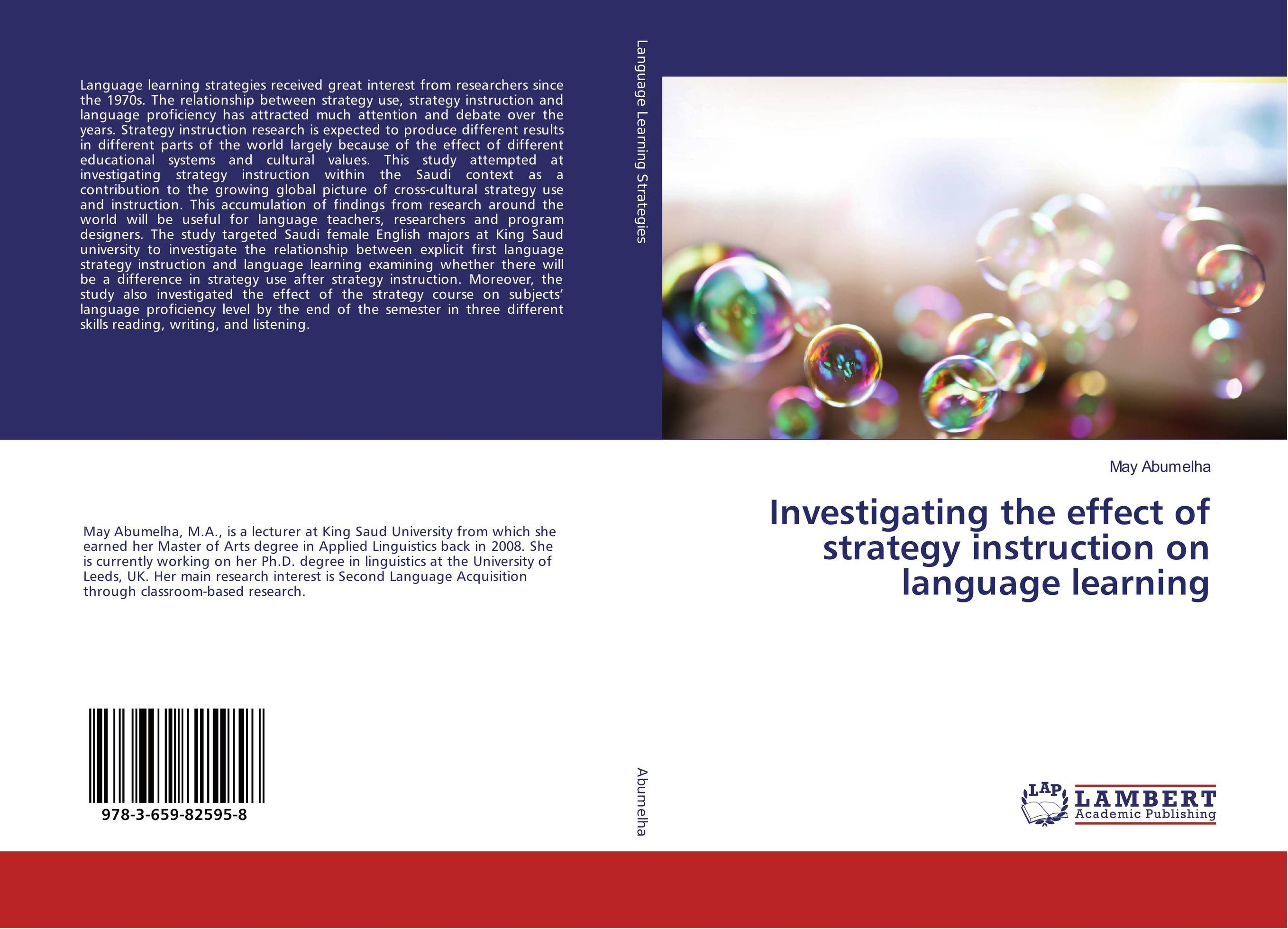 Investigating the effect of strategy instruction on language learning купить