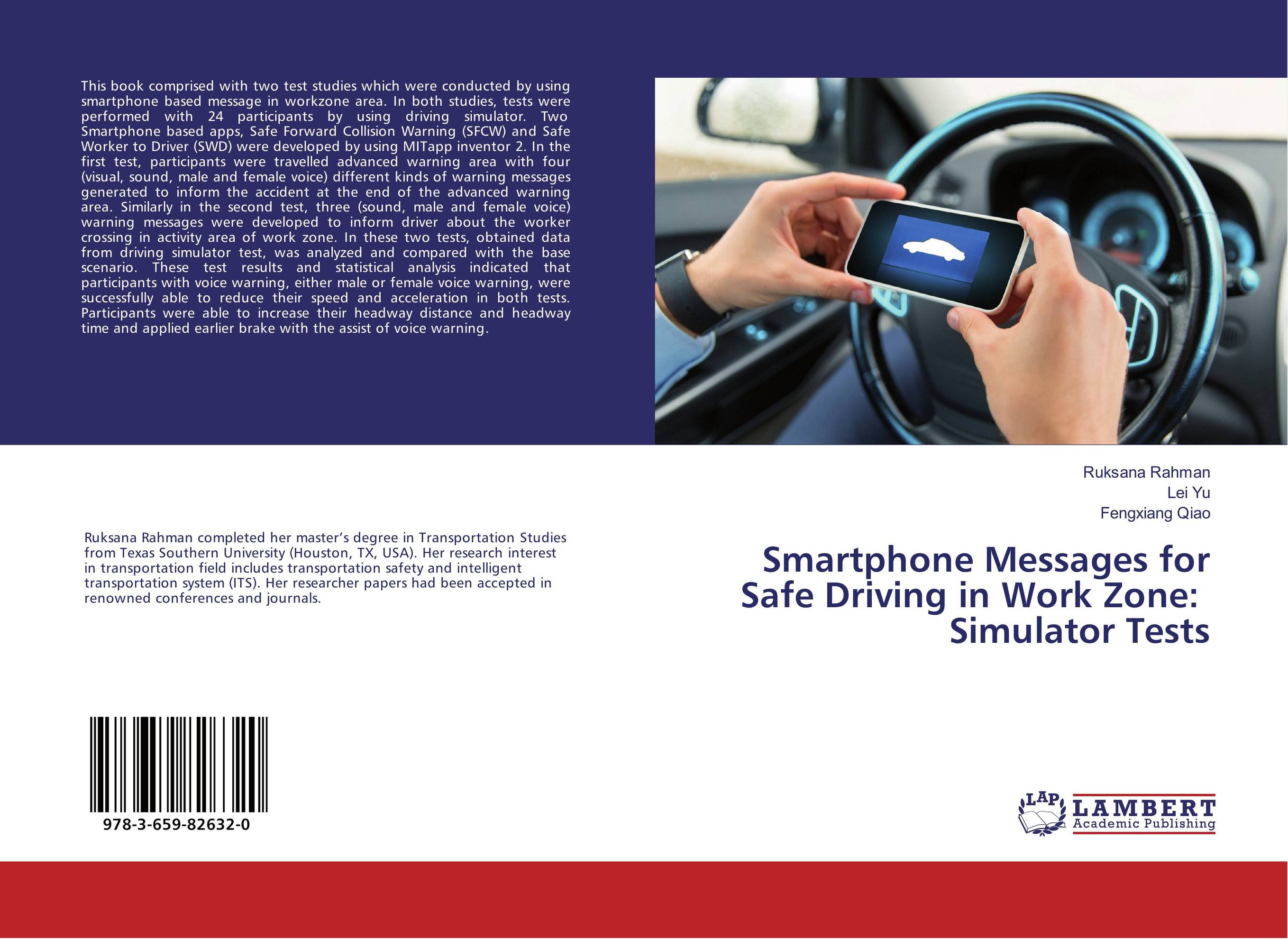 Smartphone Messages for Safe Driving in Work Zone: Simulator Tests fates warning fates warning theories of flight 2 lp