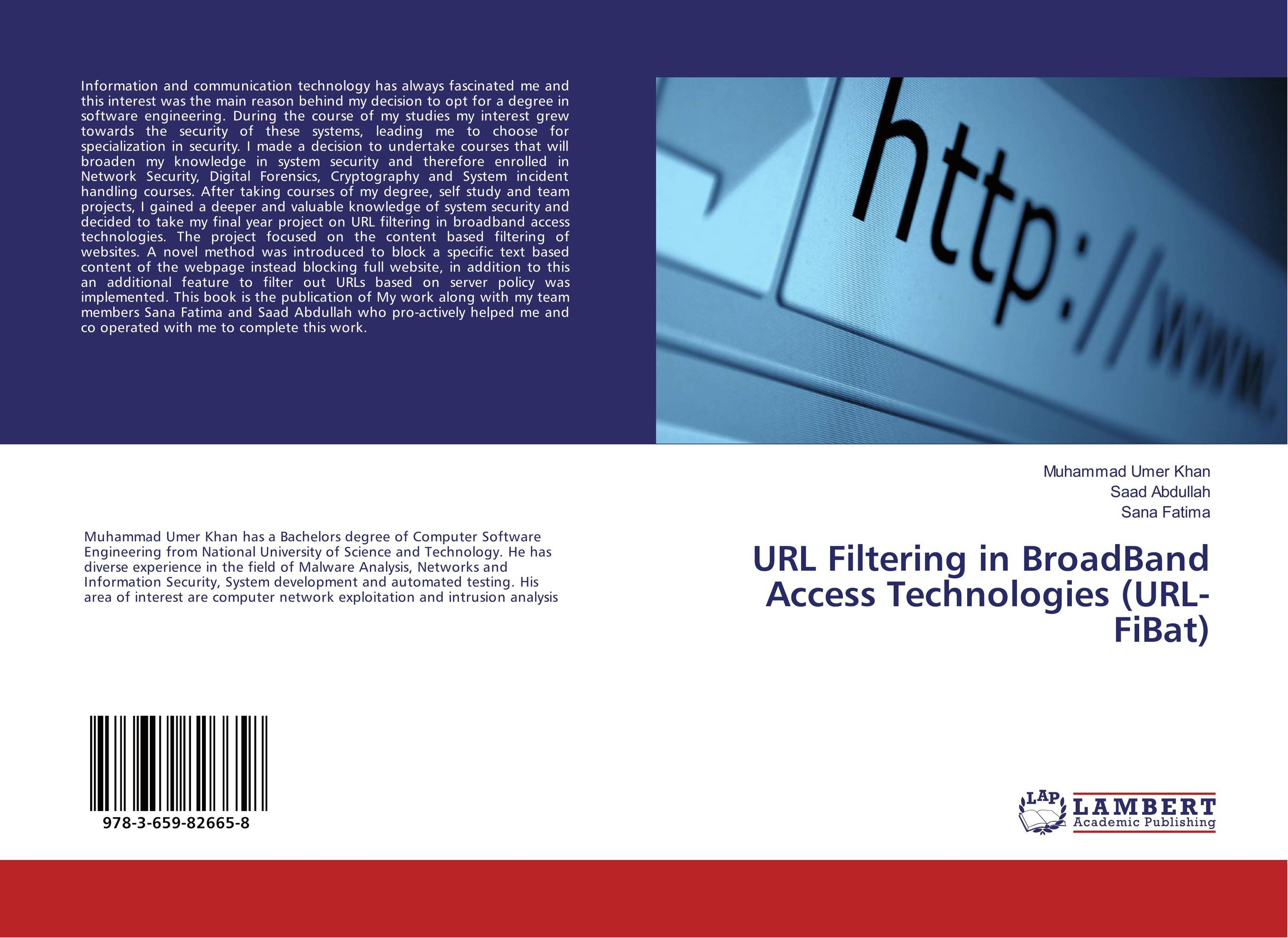 URL Filtering in BroadBand Access Technologies (URL-FiBat) me and my place in space