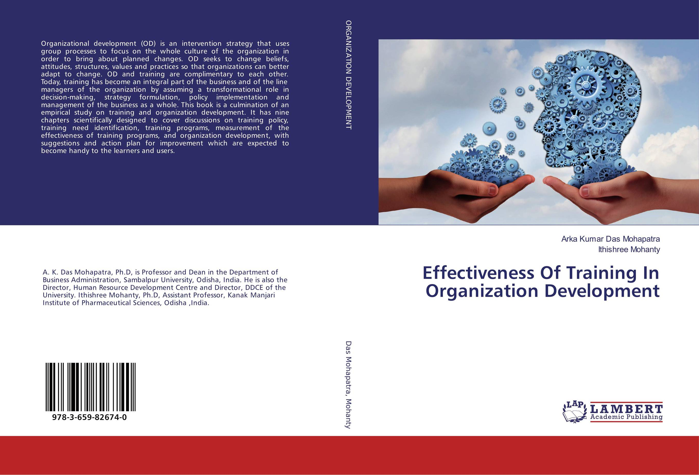 Effectiveness Of Training In Organization Development elaine biech training and development for dummies