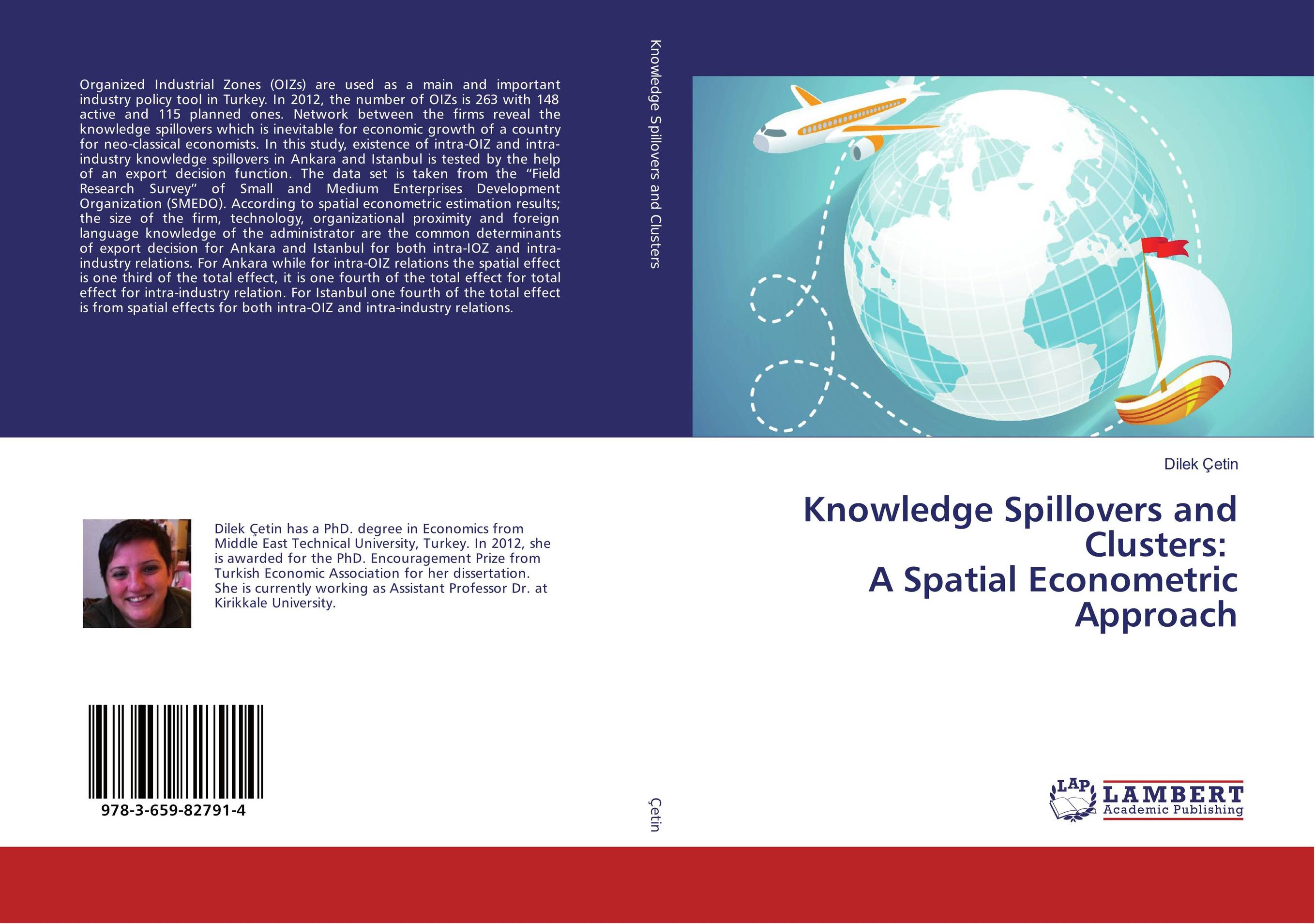 Knowledge Spillovers and Clusters: A Spatial Econometric Approach