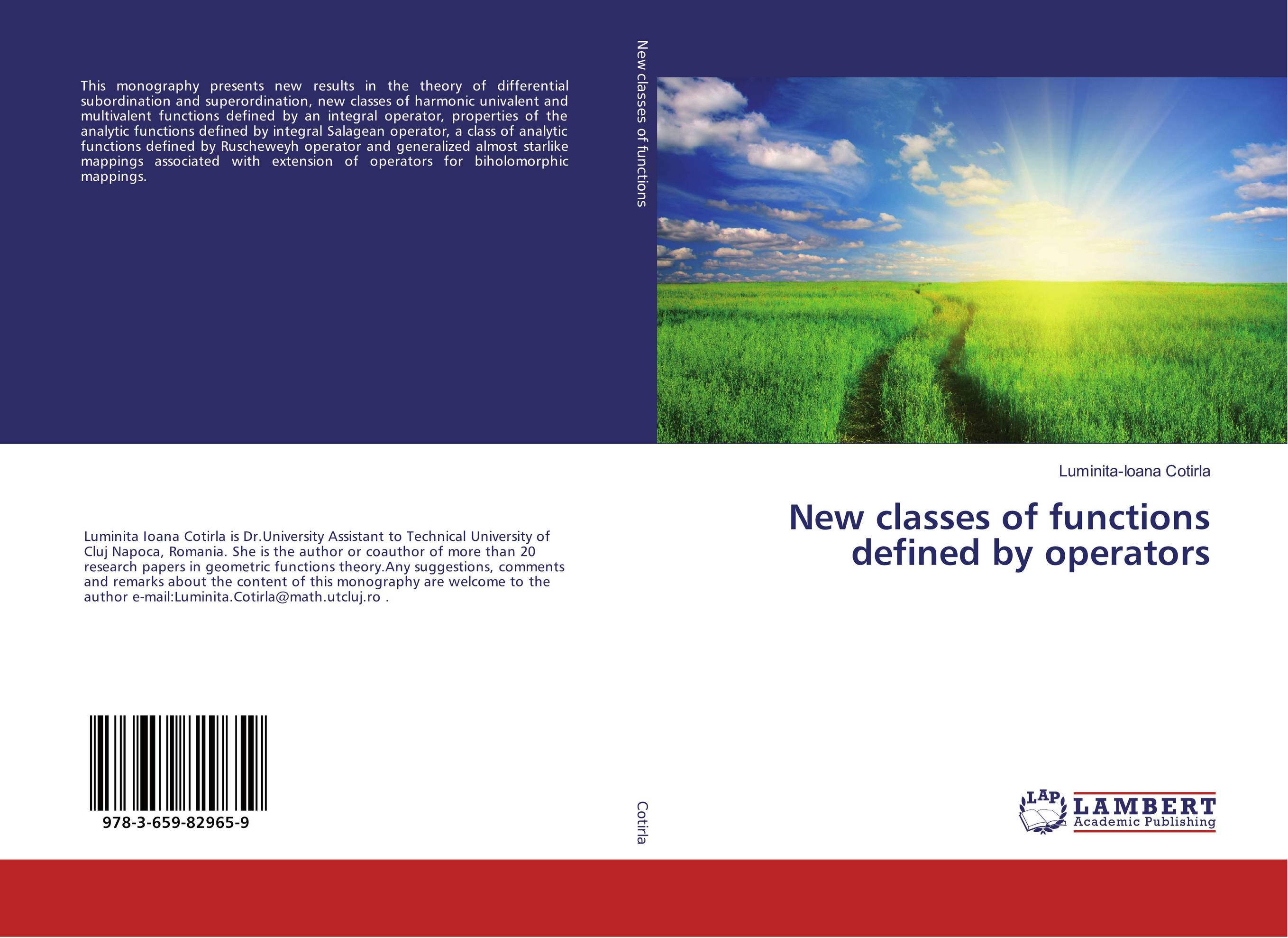 New classes of functions defined by operators gerald j murphy c algebras and operator theory