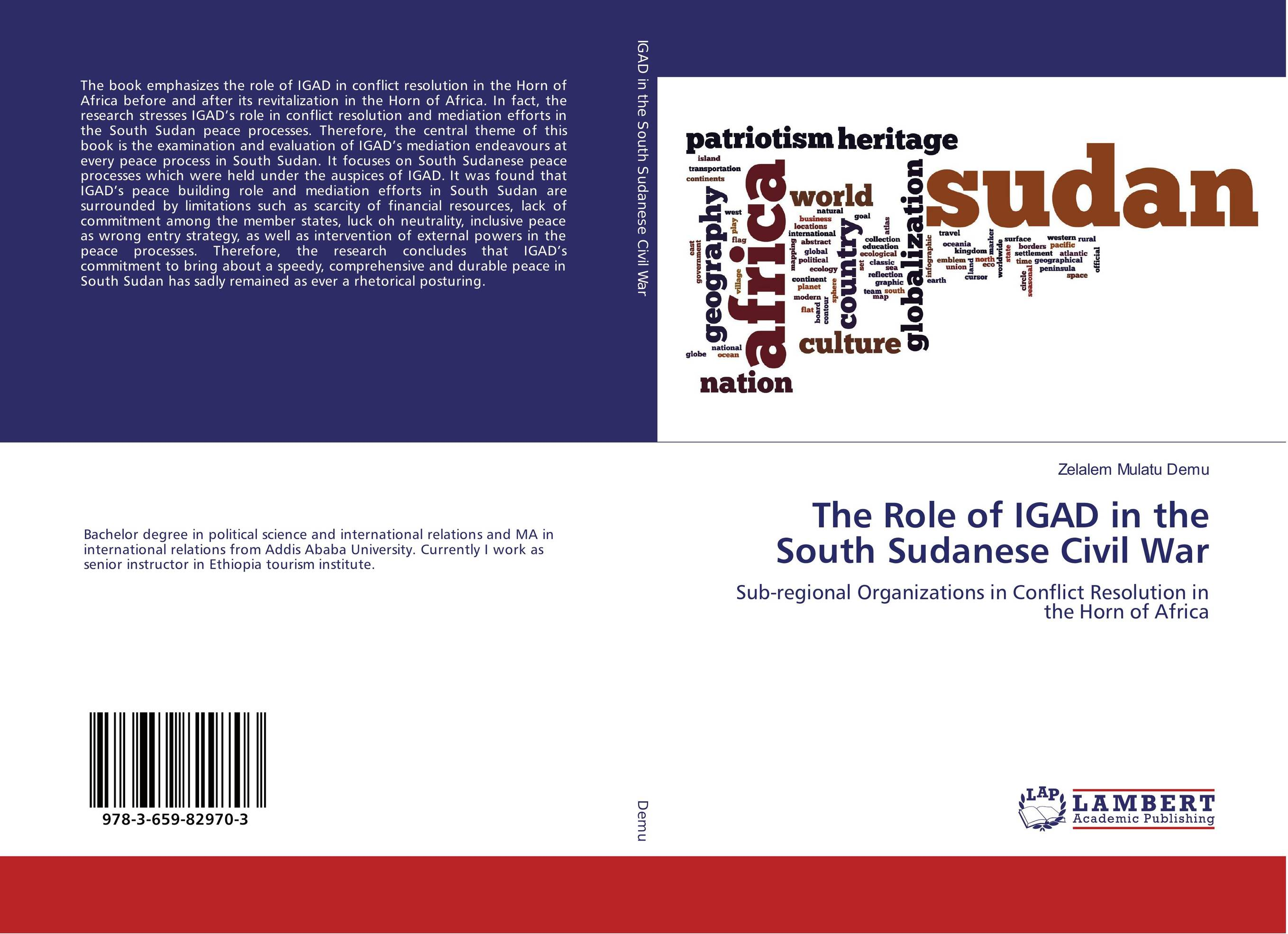 The Role of IGAD in the South Sudanese Civil War phlebotomine sand flies of central sudan