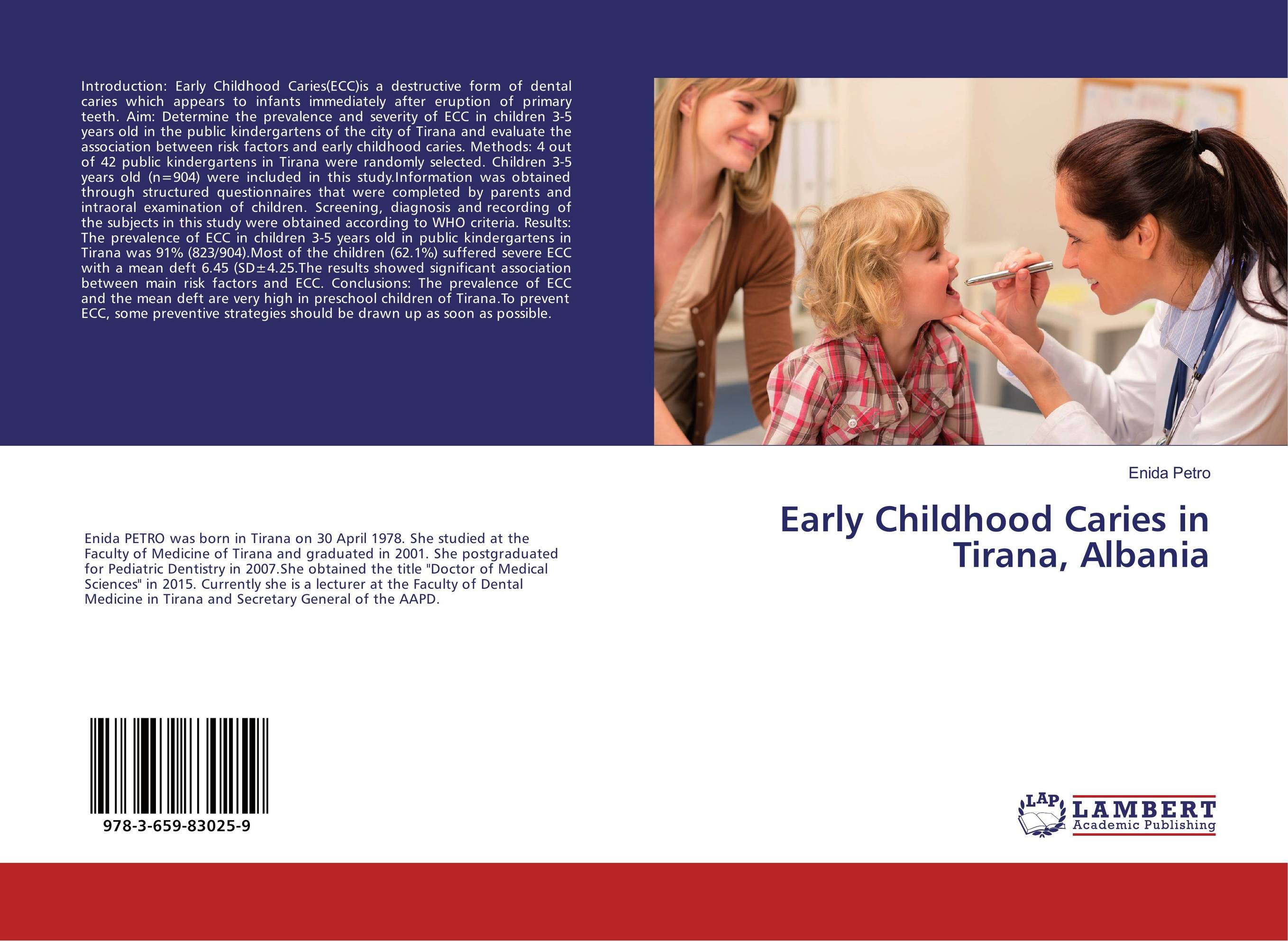 Early Childhood Caries in Tirana, Albania prevalence of intestinal parasitosis among children