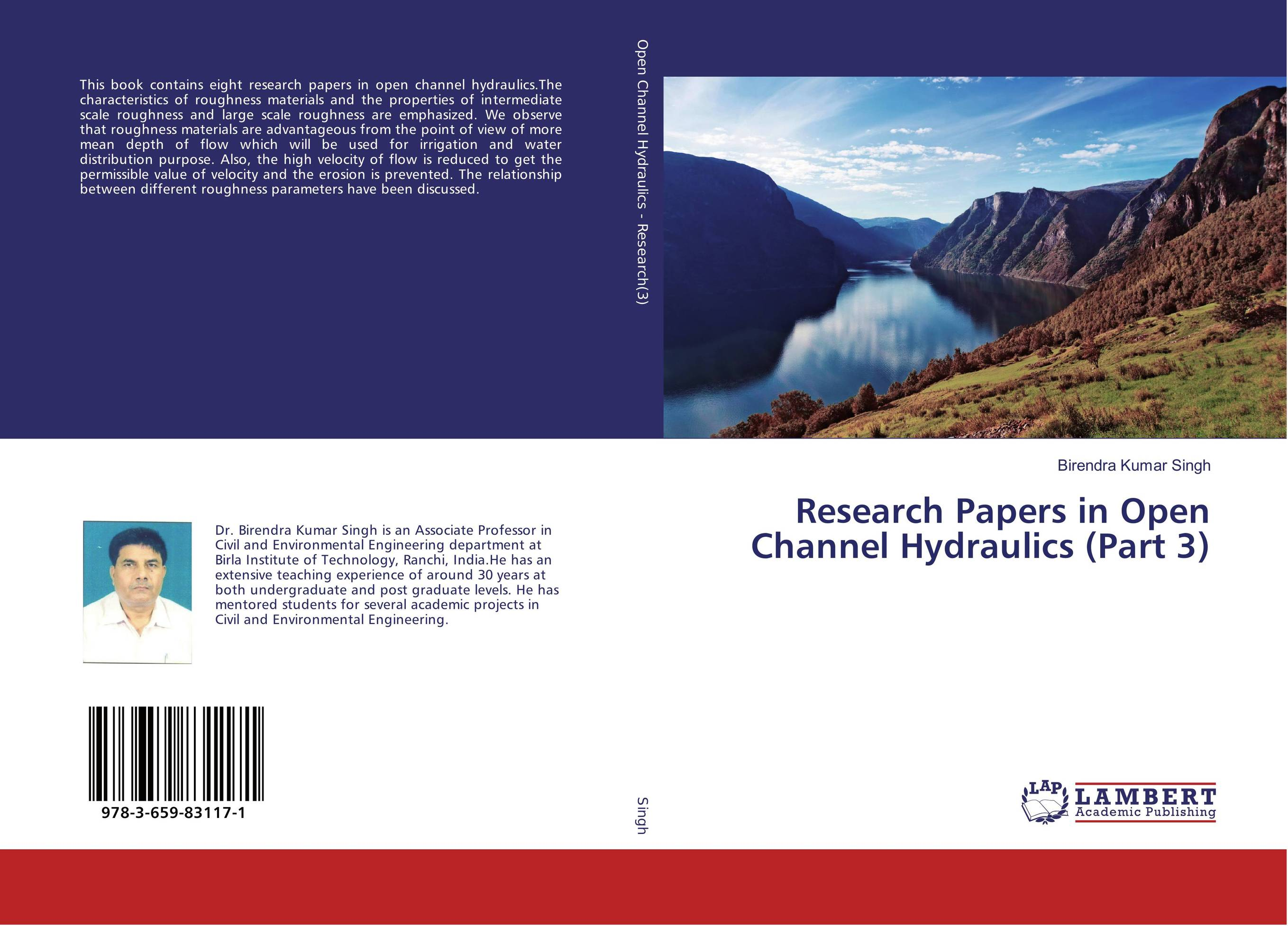Research Papers in Open Channel Hydraulics (Part 3)