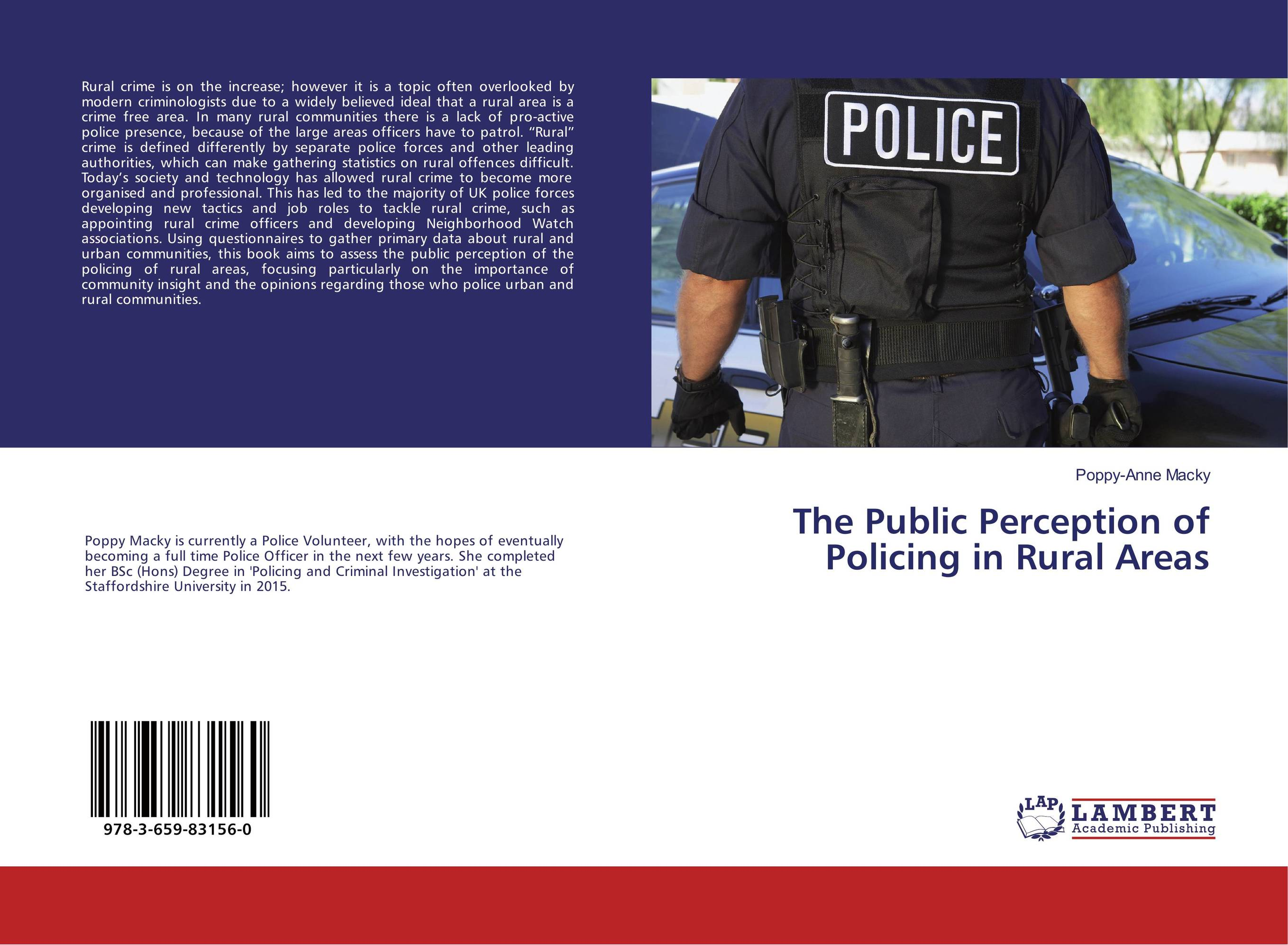 The Public Perception of Policing in Rural Areas public parks – the key to livable communities