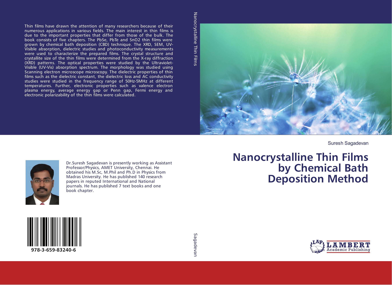 Nanocrystalline Thin Films by Chemical Bath Deposition Method rajendra c pawar and pramod s patil zinc oxide nanocrystalline thin films dye sensitized solar cells