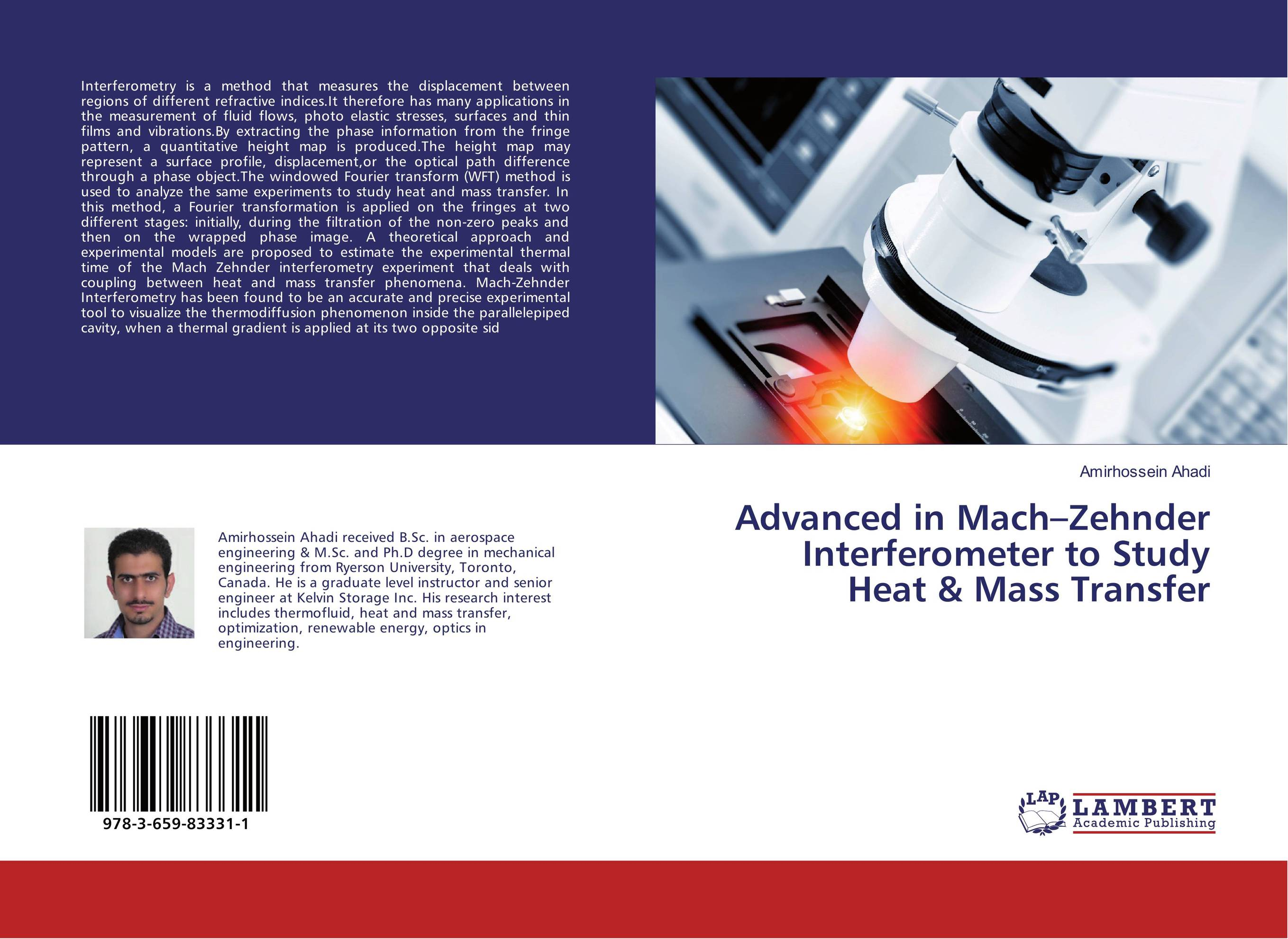 Advanced in Mach–Zehnder Interferometer to Study Heat & Mass Transfer heat and mass transfer studies on different leather materials