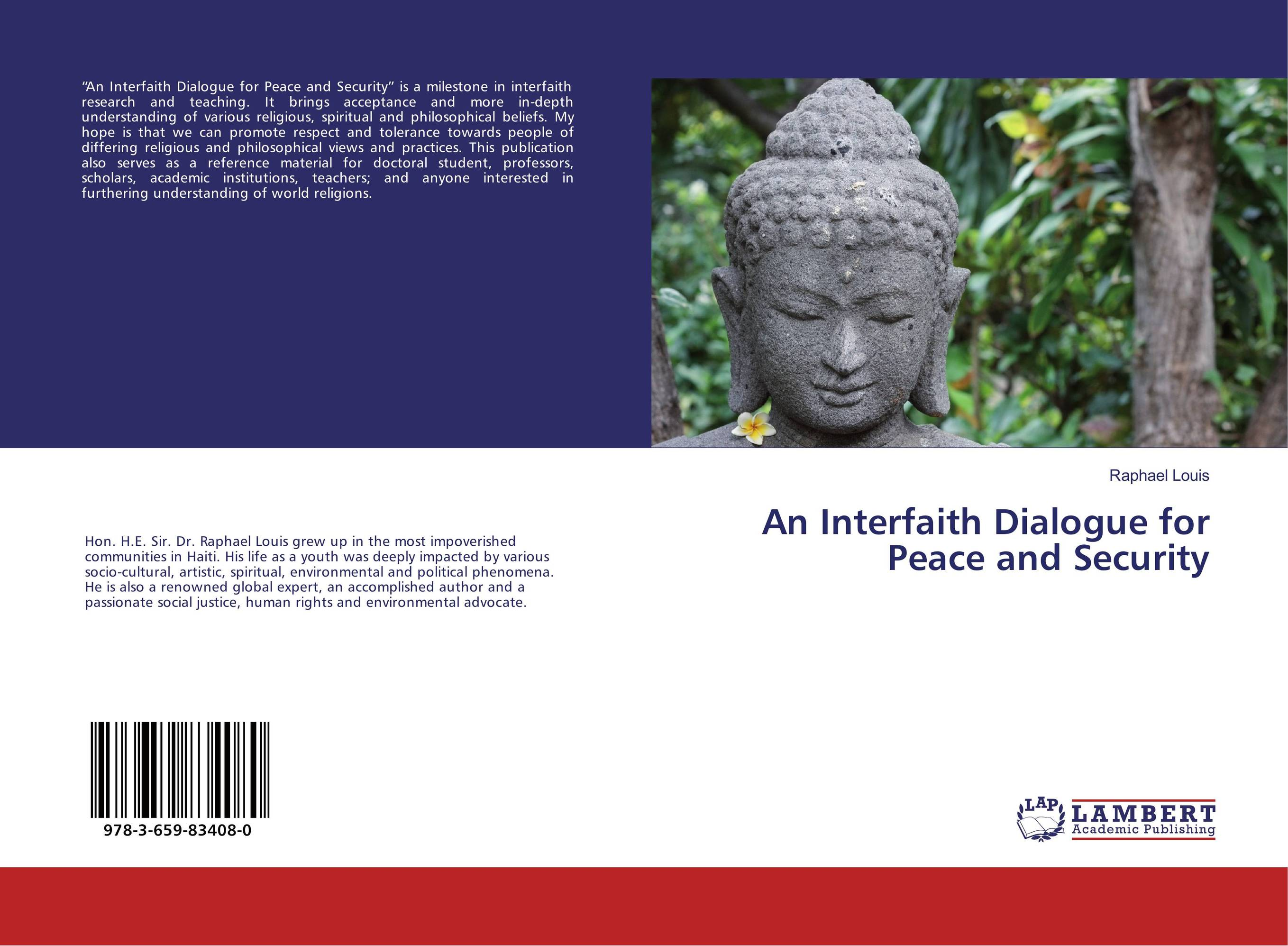 An Interfaith Dialogue for Peace and Security religious institutions and character building