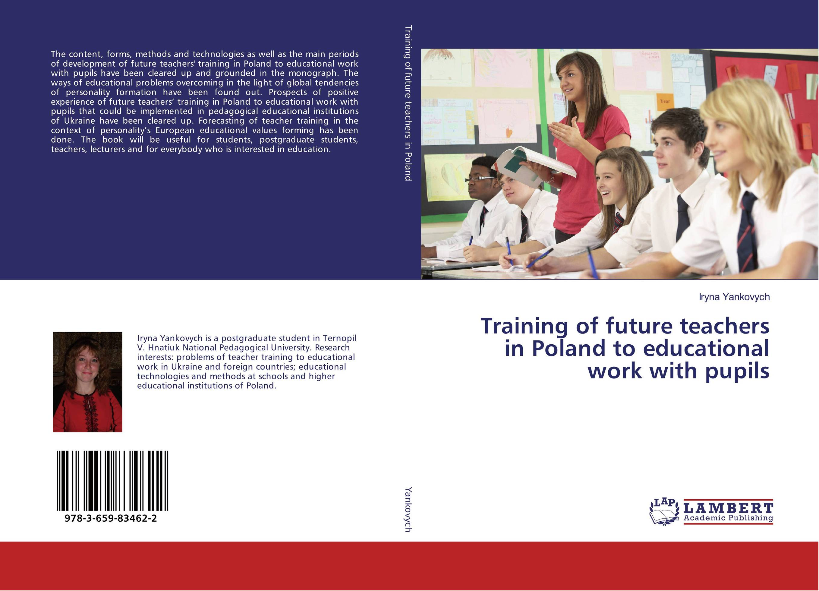 Training of future teachers in Poland to educational work with pupils work experience education for teachers