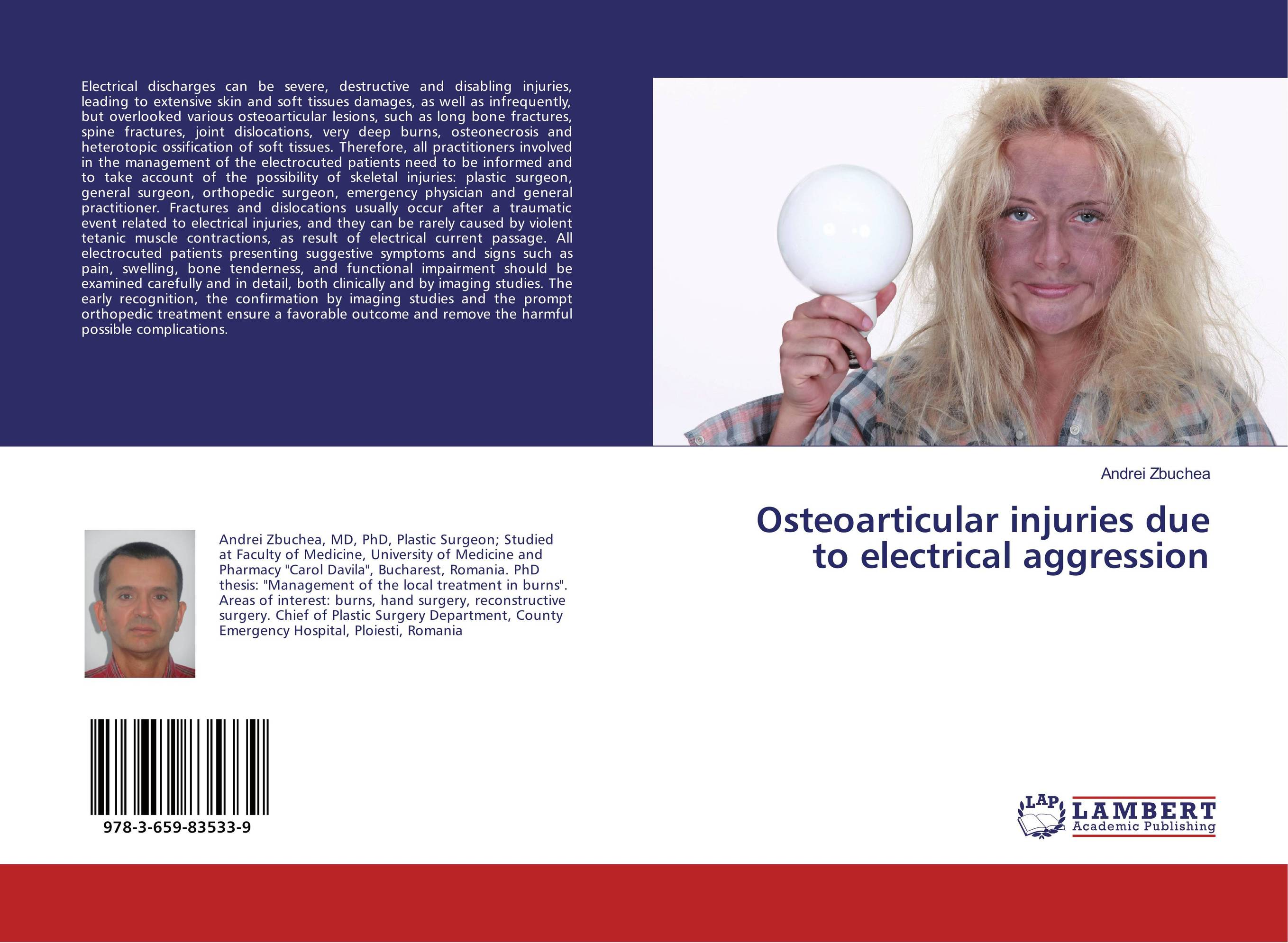 Osteoarticular injuries due to electrical aggression lesions of skin of sheep and goats due to external parasites