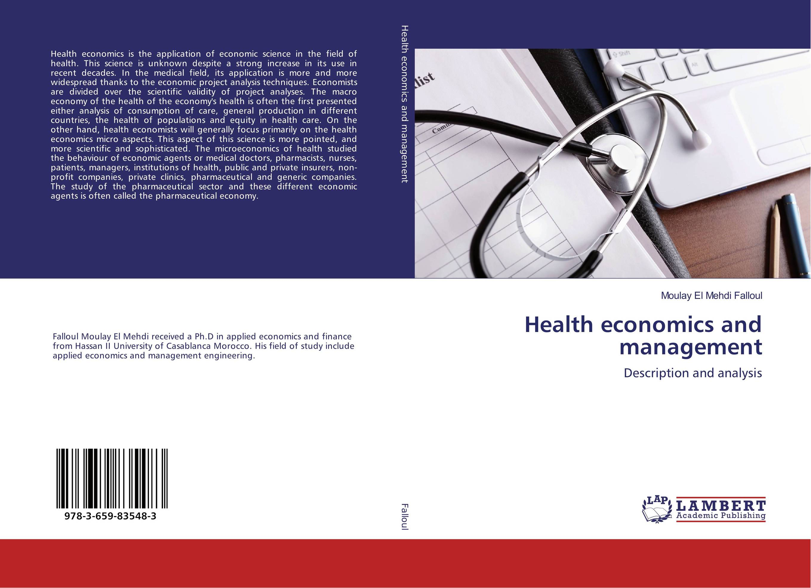 Health economics and management the health gap