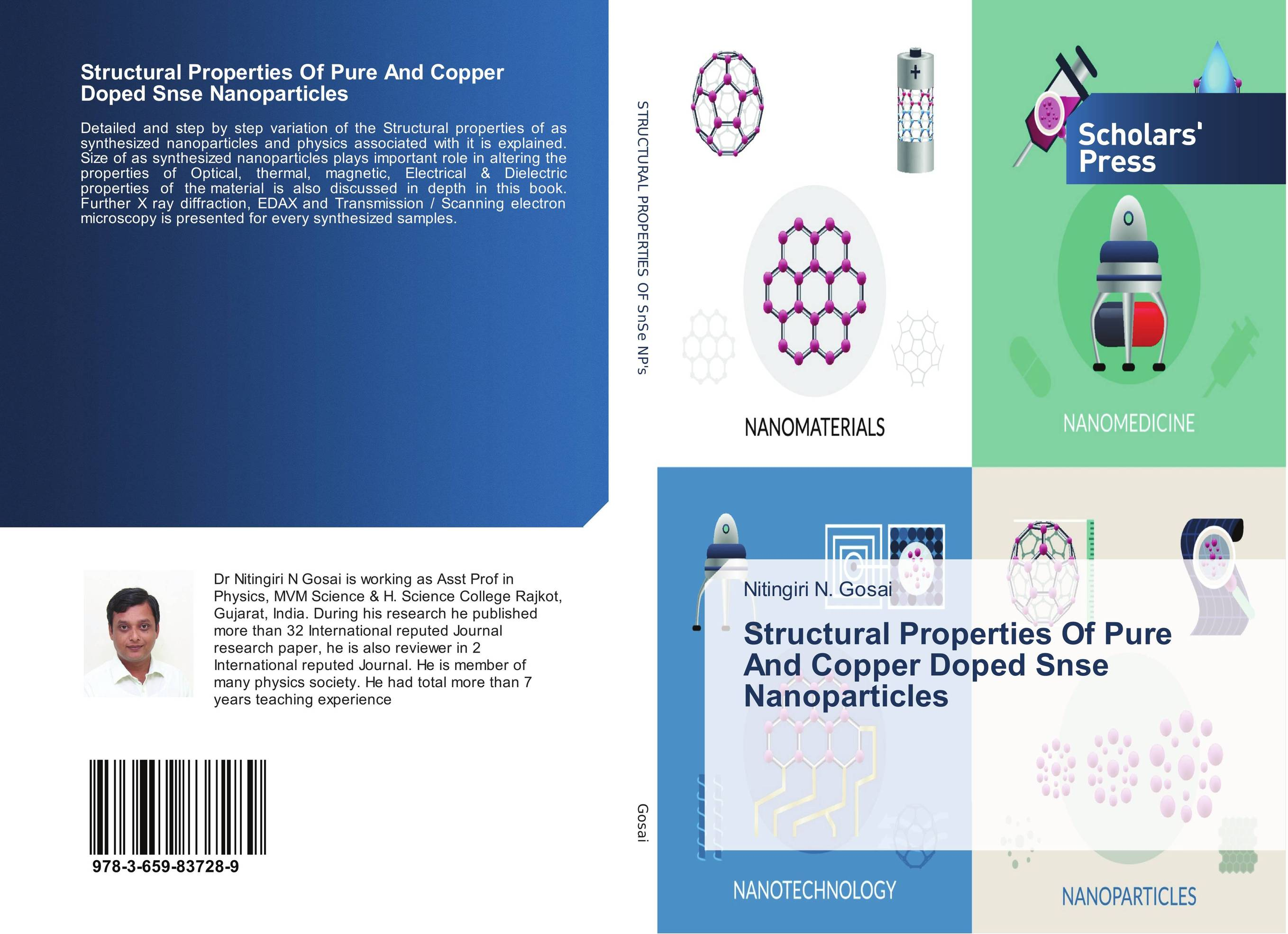 Фото Structural Properties Of Pure And Copper Doped Snse Nanoparticles synthesis and studies on the properties of ferritic nanoparticles