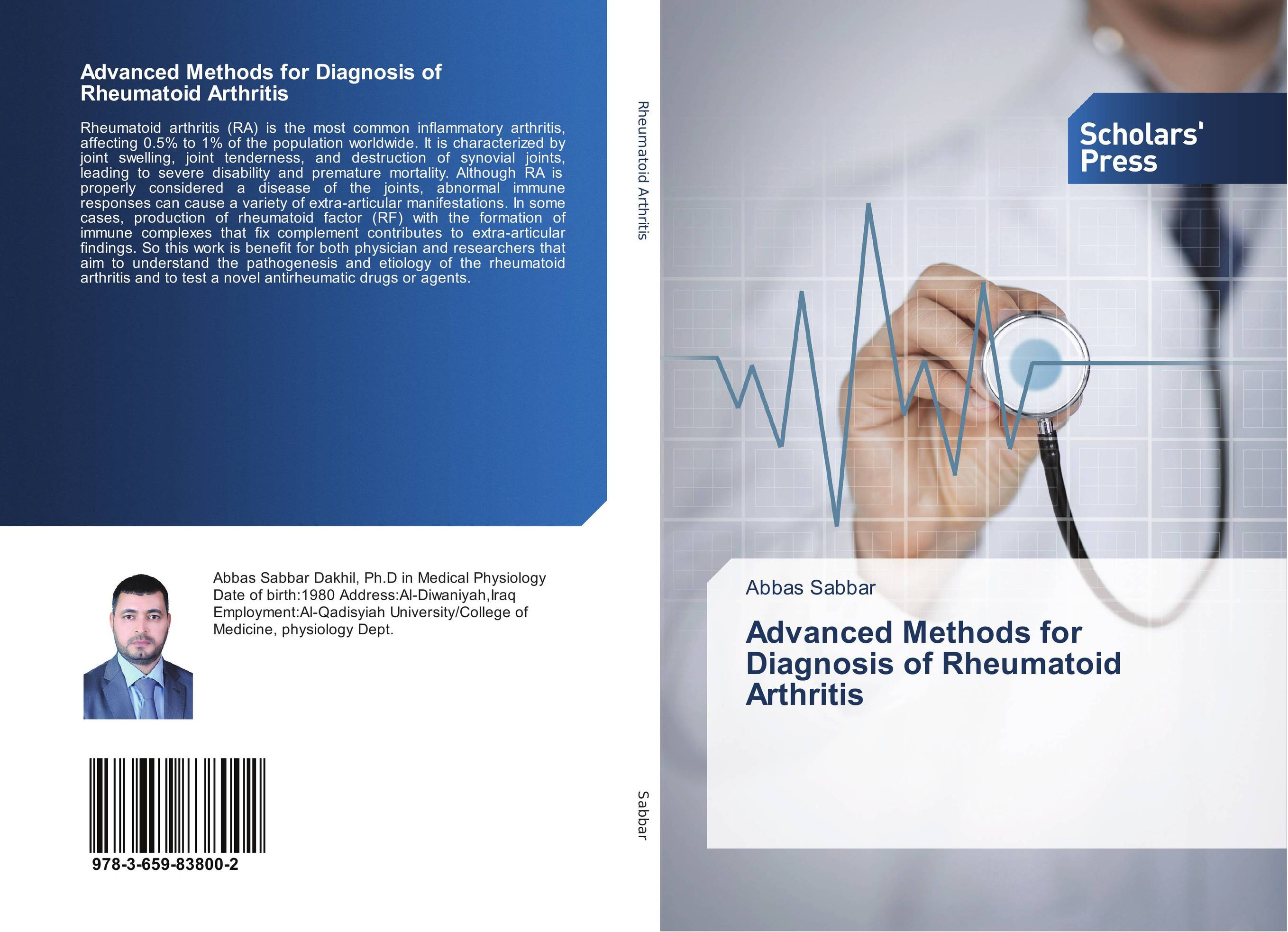 Advanced Methods for Diagnosis of Rheumatoid Arthritis new techniques for early diagnosis of rheumatoid arthritis