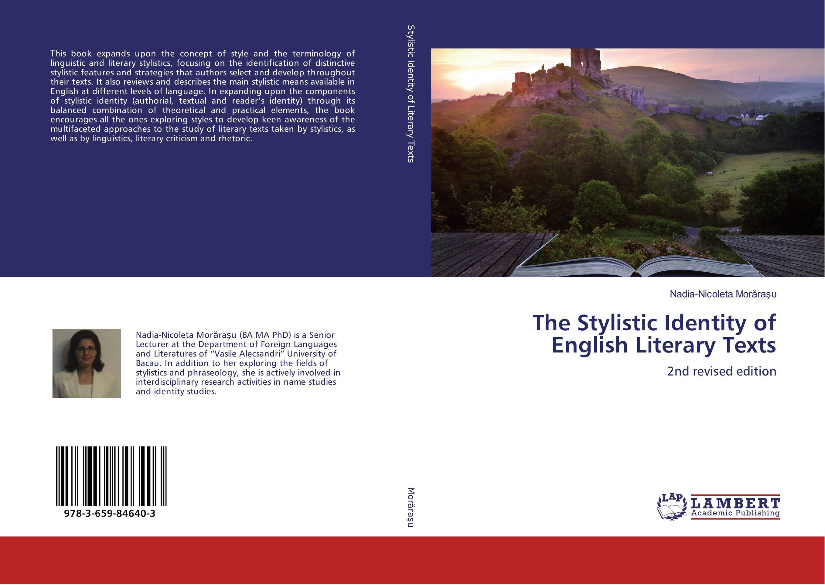 The Stylistic Identity of English Literary Texts the stylistic identity of english literary texts