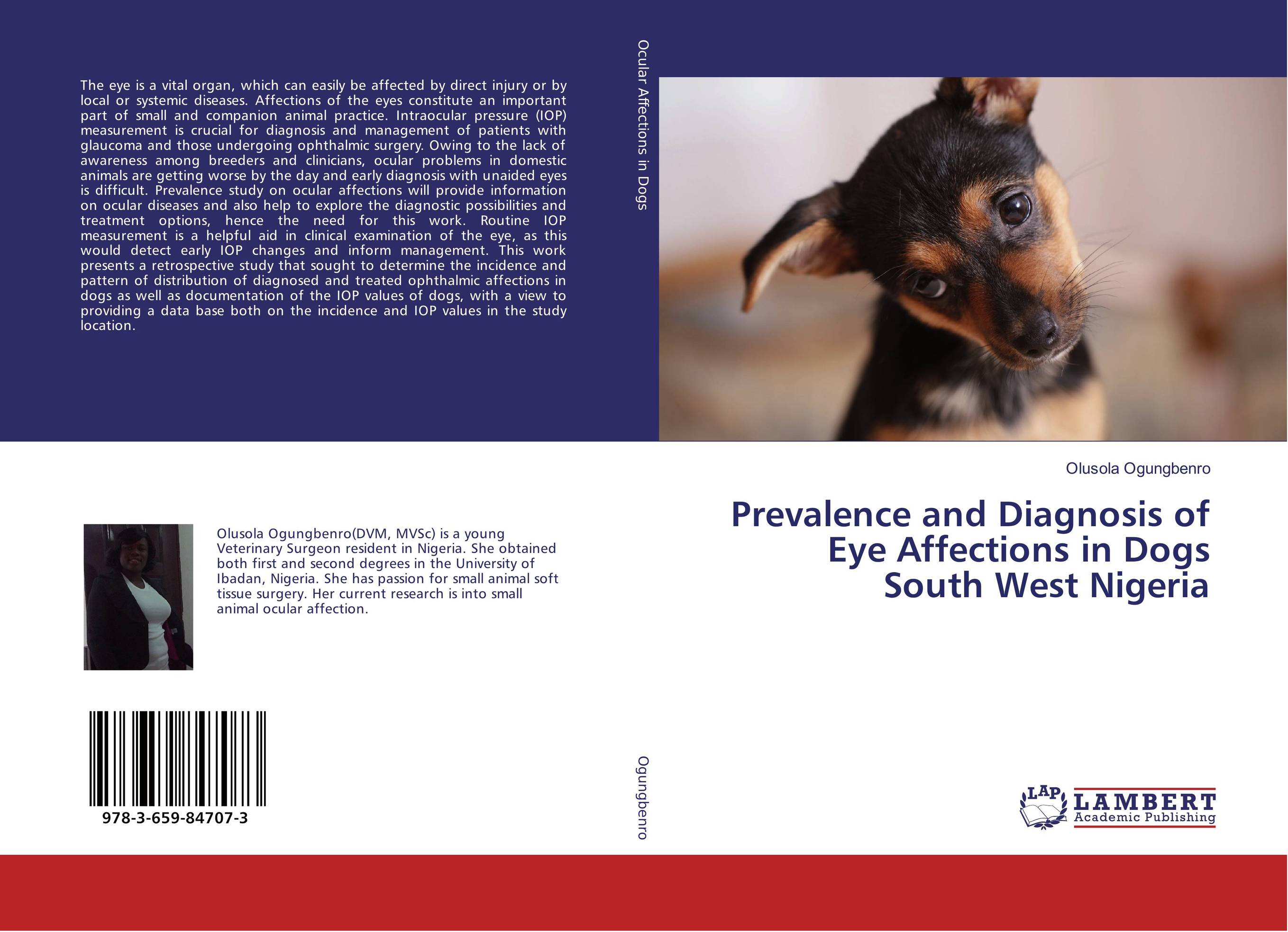 Prevalence and Diagnosis of Eye Affections in Dogs South West Nigeria clinical significance of electro diagnosis in disc herniation