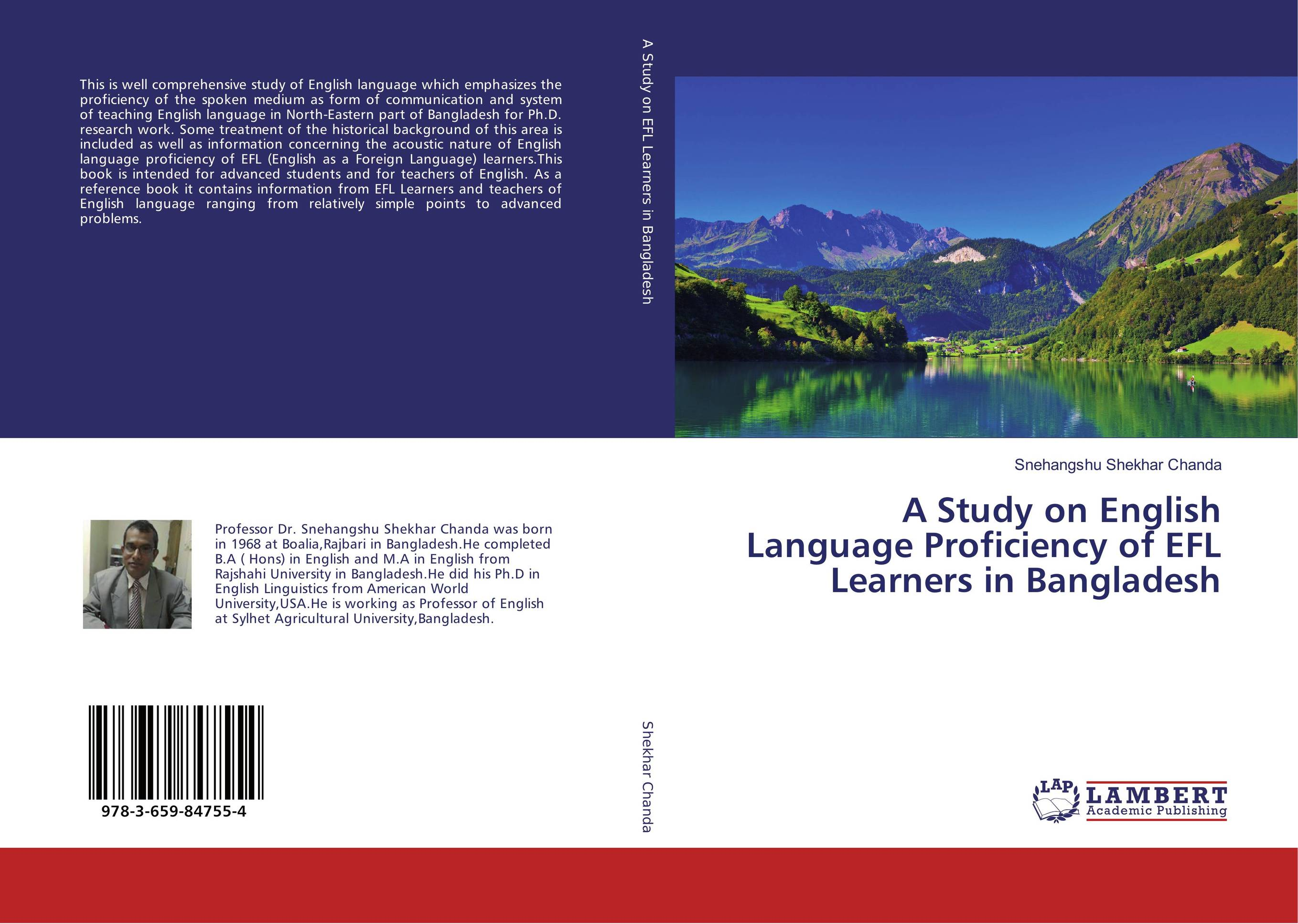 A Study on English Language Proficiency of EFL Learners in Bangladesh цена