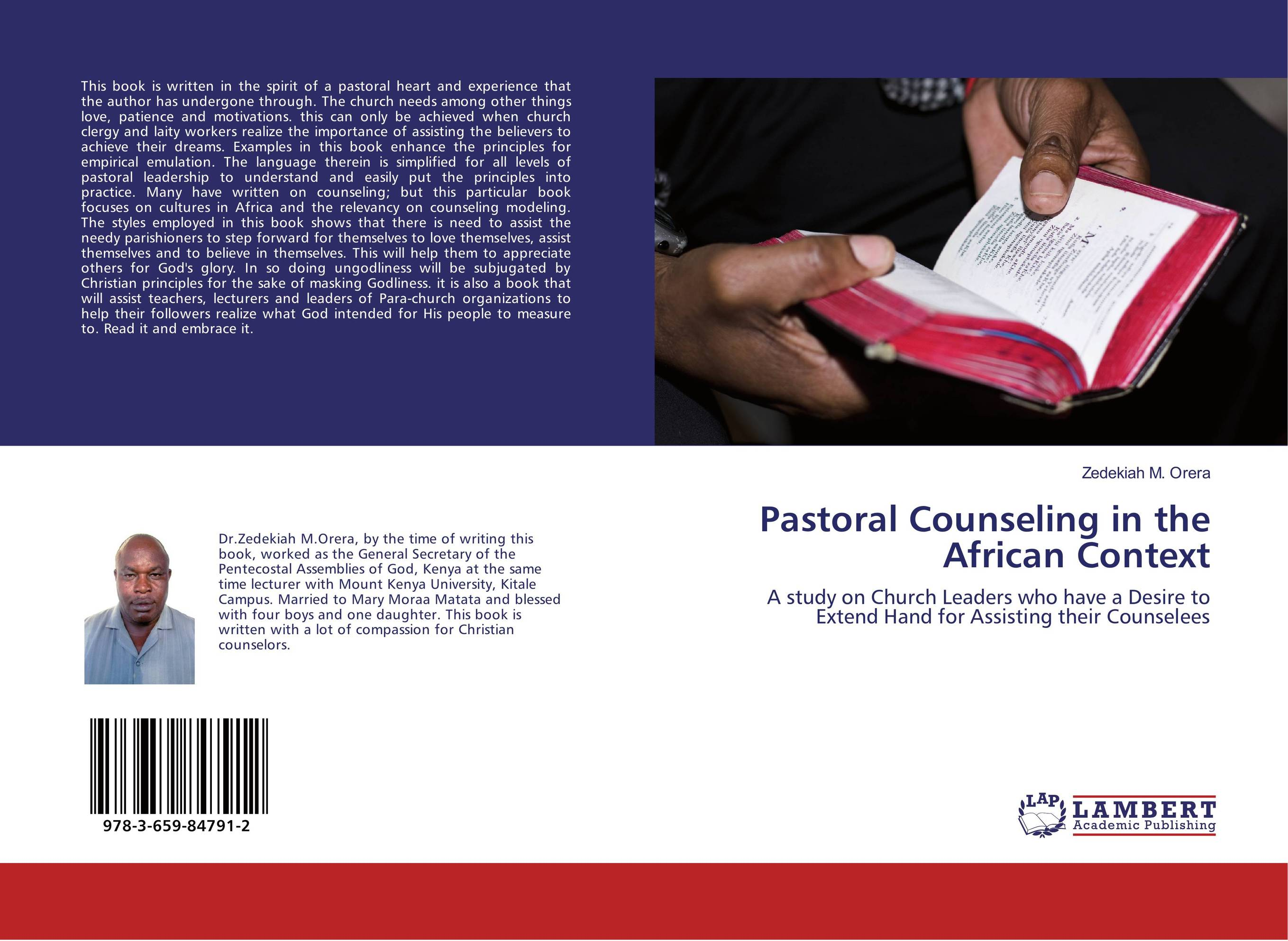 Pastoral Counseling in the African Context teenagers and their counseling needs