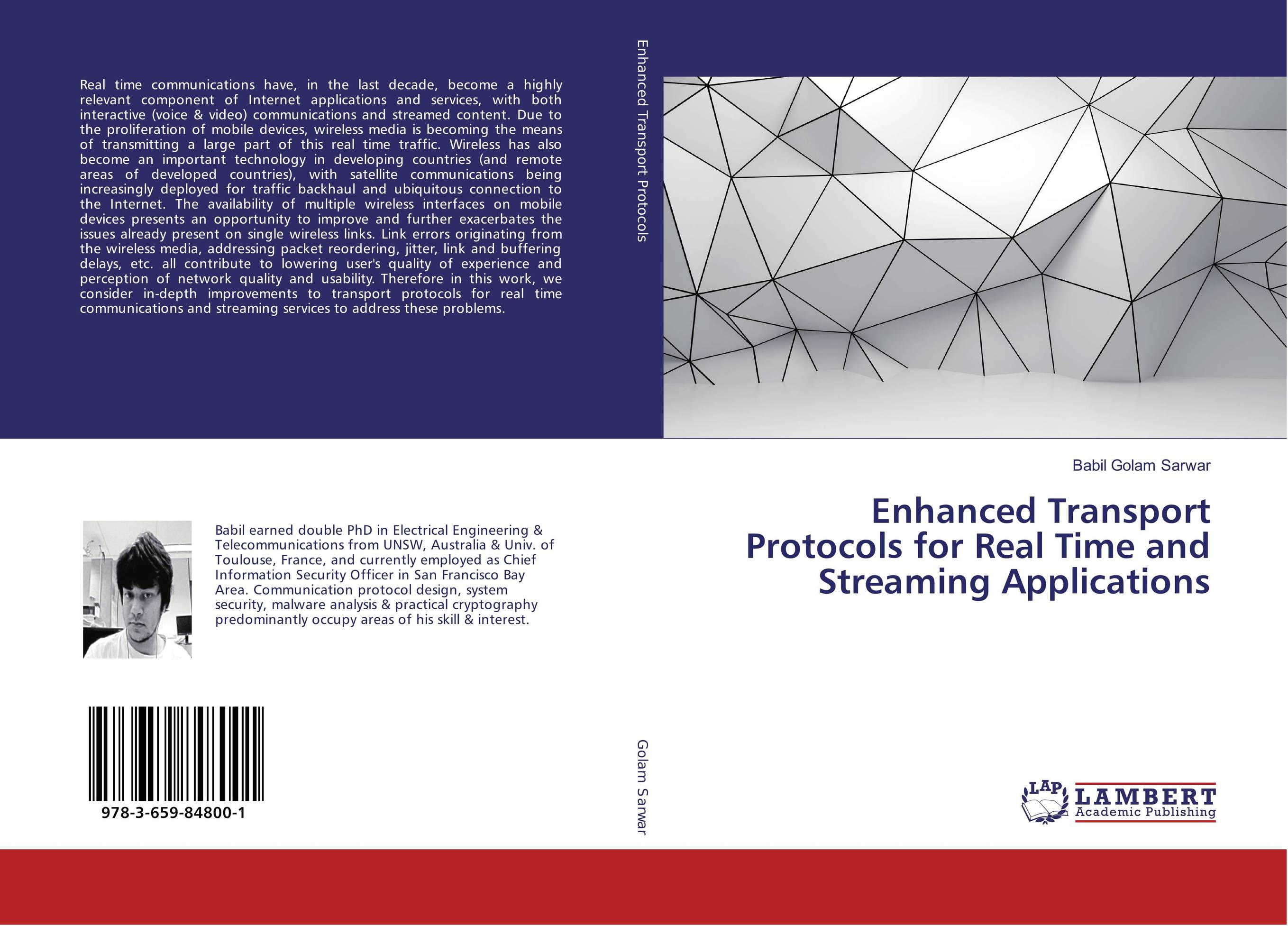 Enhanced Transport Protocols for Real Time and Streaming Applications in situ detection of dna damage methods and protocols